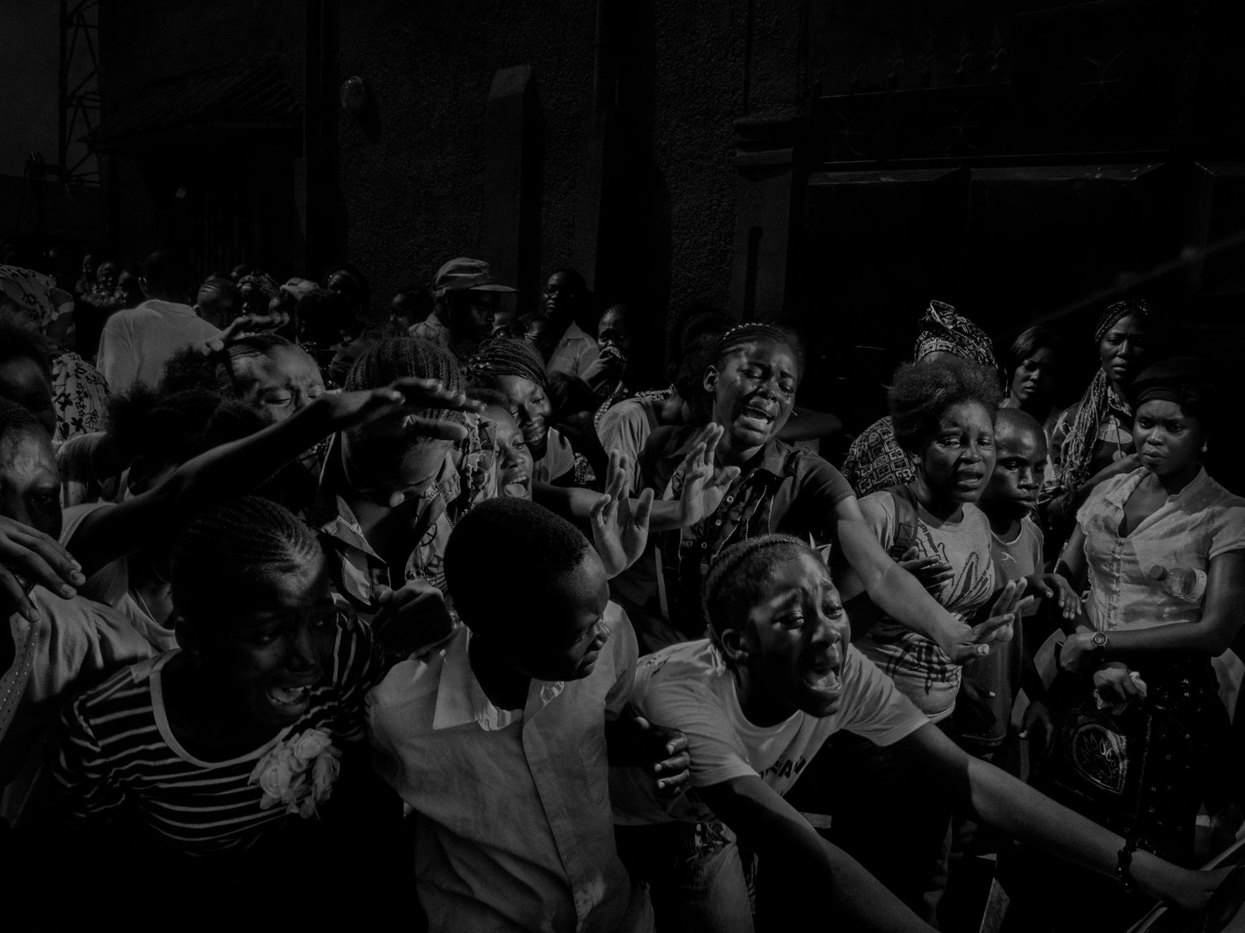 Scene #0525, Pointe Noire, Congo 3/5, 2013.