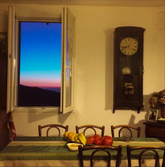 Annie's Table. Lama, Corsica, France. July 27, 2014, 9:27:35pm  Latitude: 42°34'37''N, Longitude: 9°10'19''E  © Robert Herman