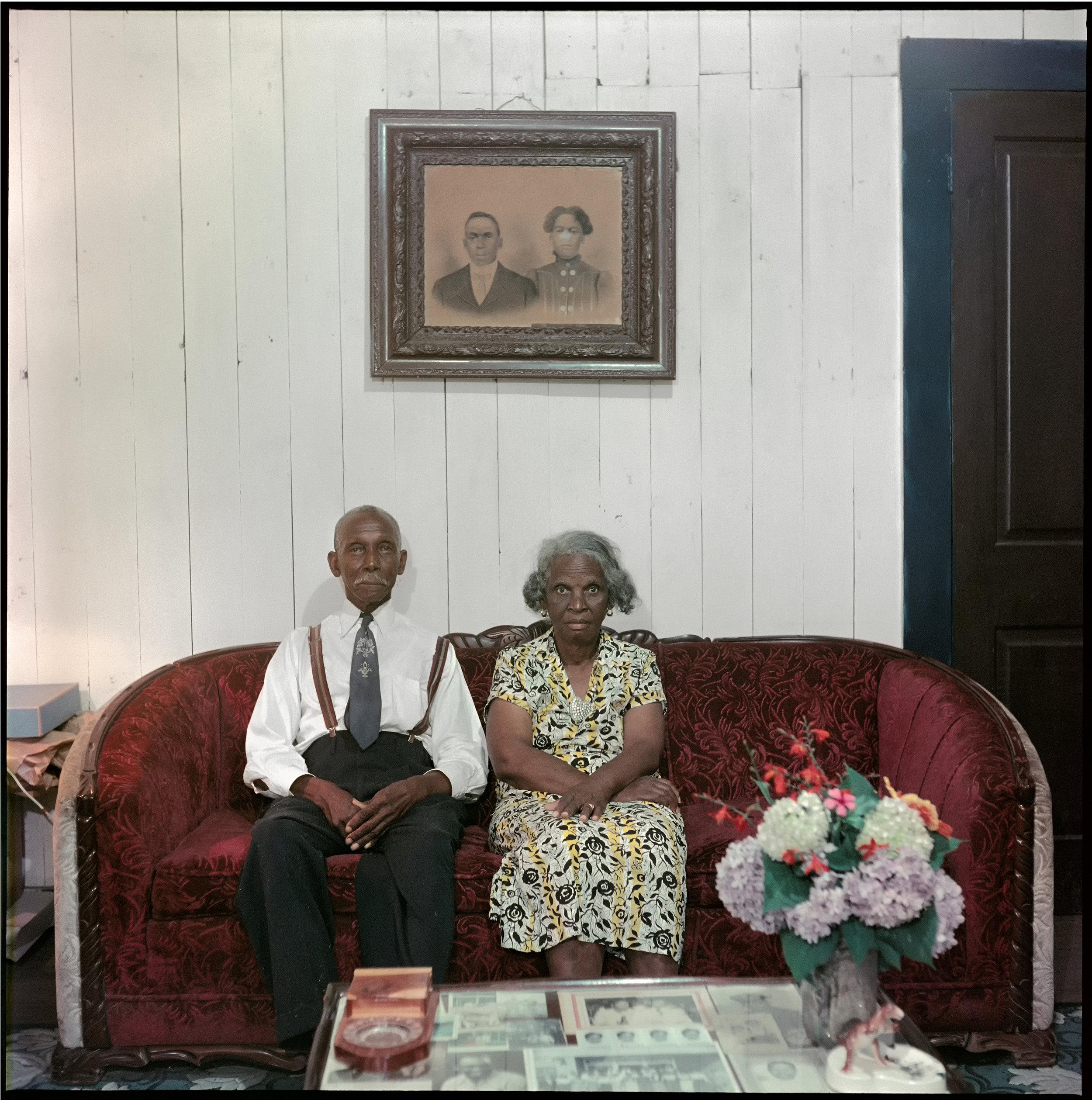 Mr. and Mrs. Albert Thornton, Mobile Tennesse, 1956