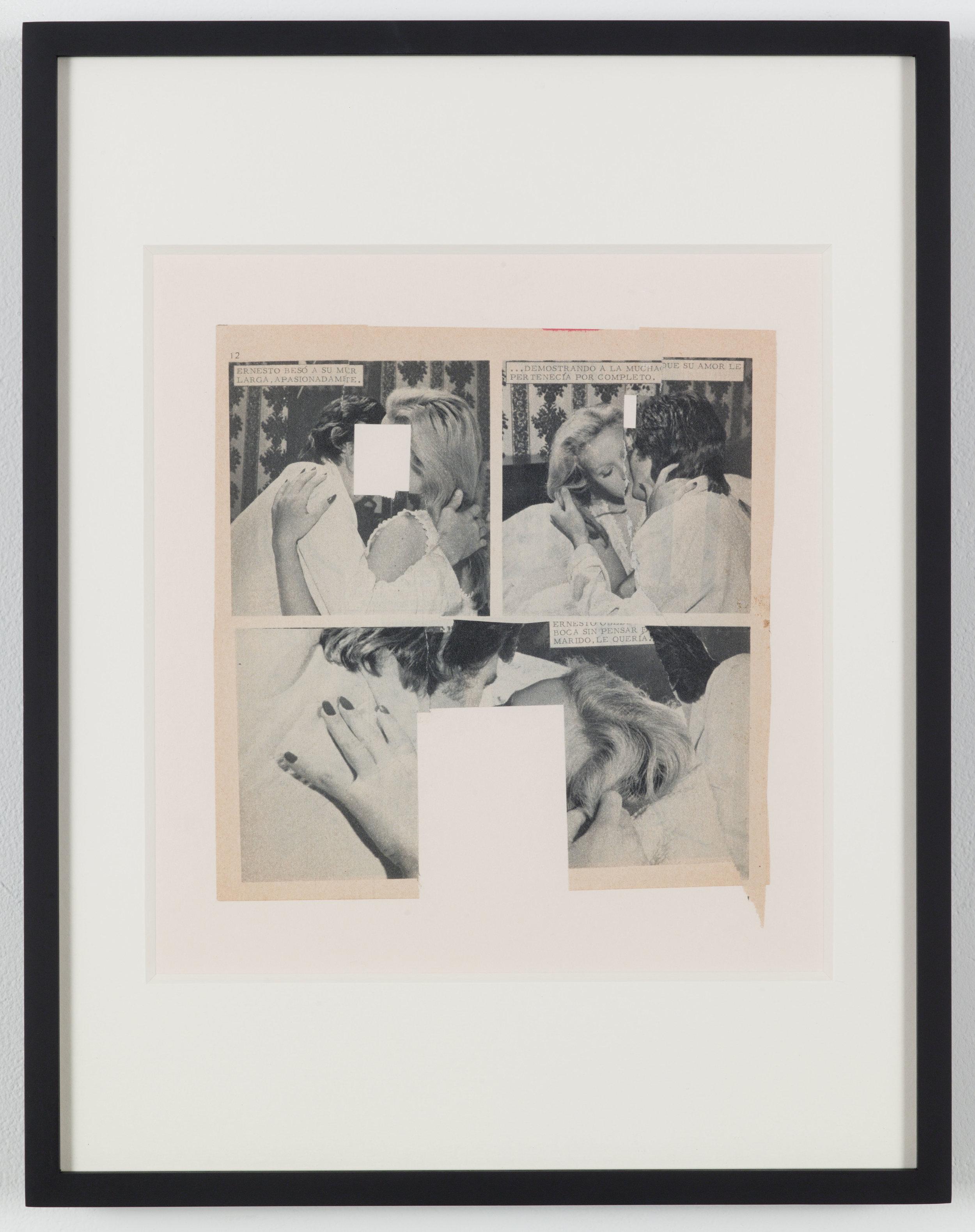 Untitled (Photoroman), 1977, Collage © John Stezaker & Petzel Gallery