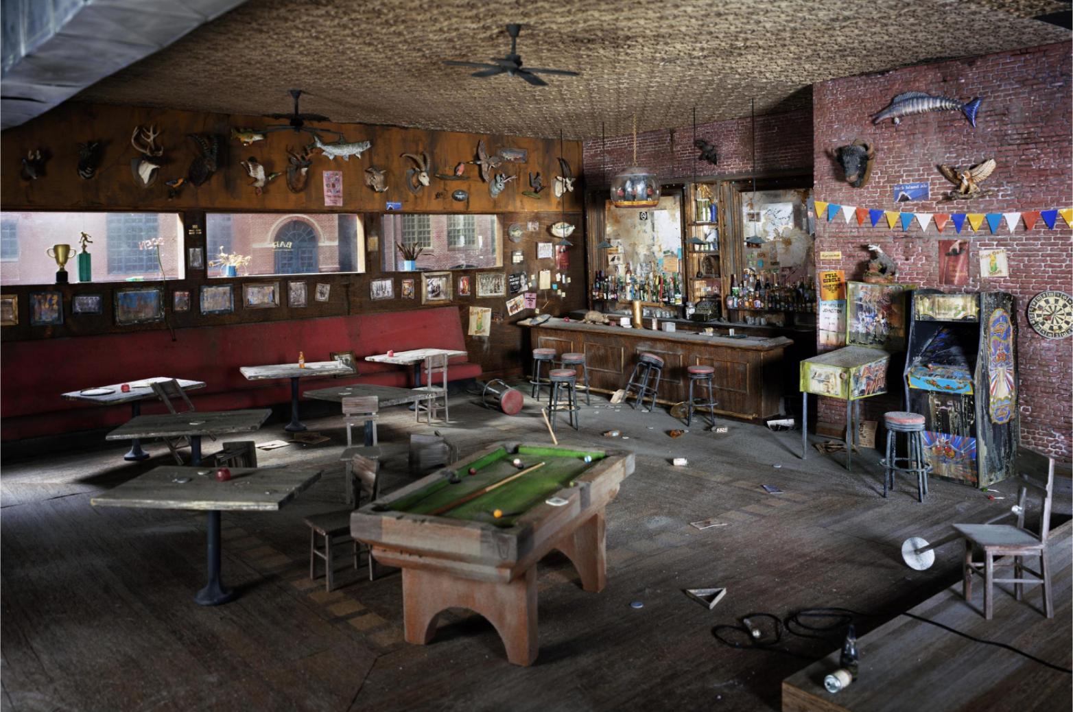 Bar, 2009 © Lori Nix