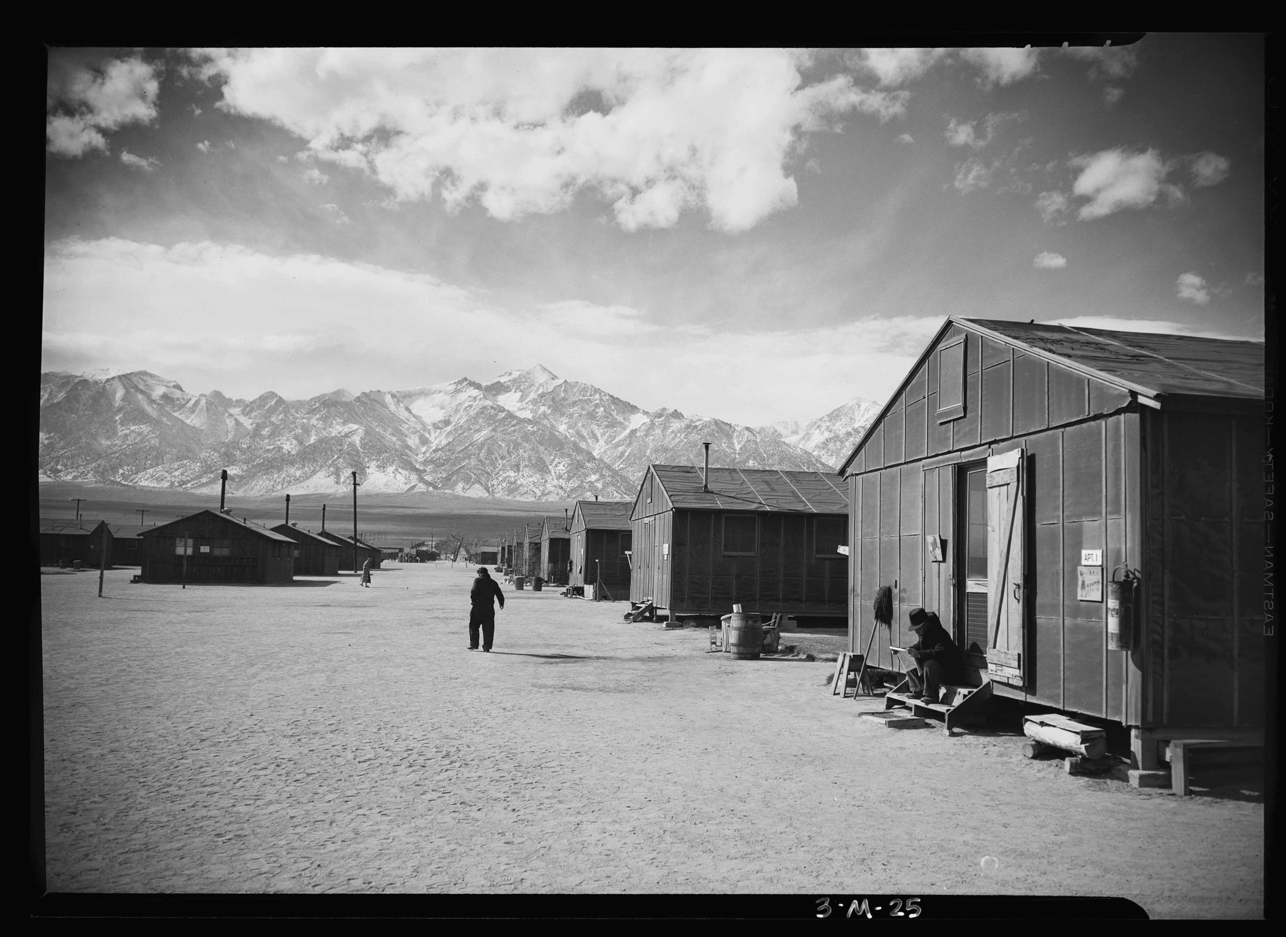 Ansel Adams, Owens Valley, California, 1943. Courtesy Library of Congress.