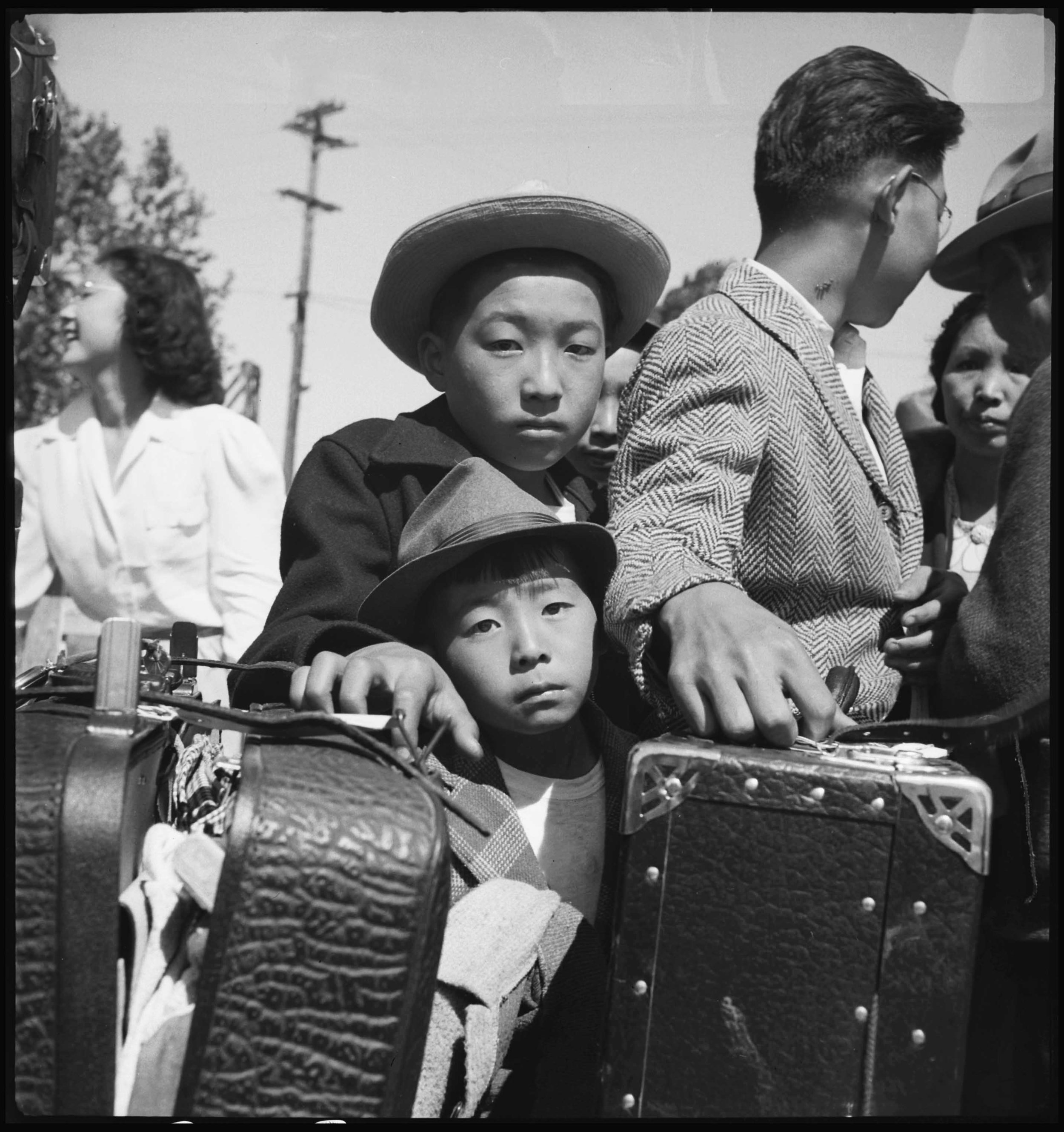 Dorothea Lange, Turlock, California, May 2, 1942. Courtesy National Archives and Records Administration