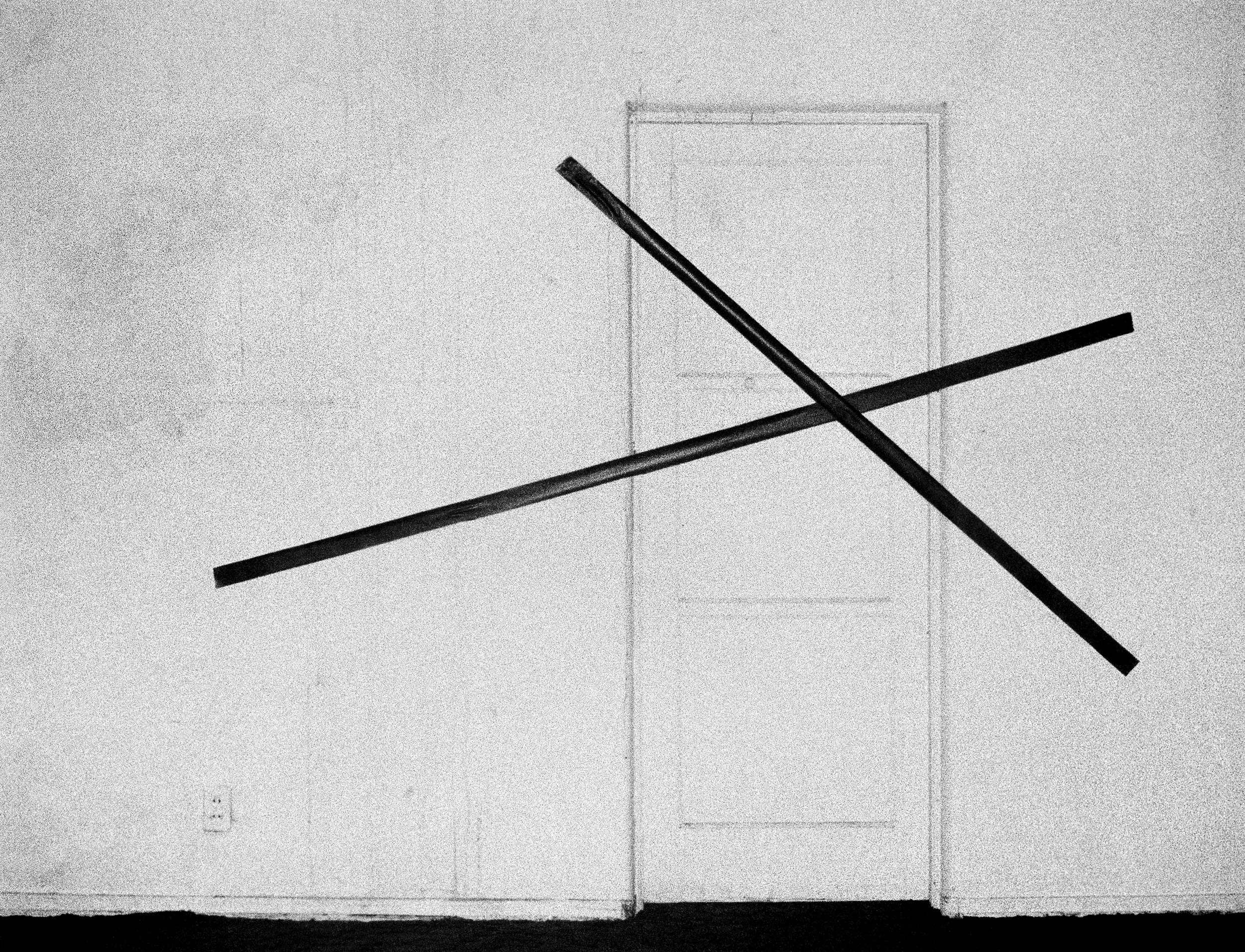 The Hollywood Suites (Bound Doors) #9,  1976  ©  Steve Kahn