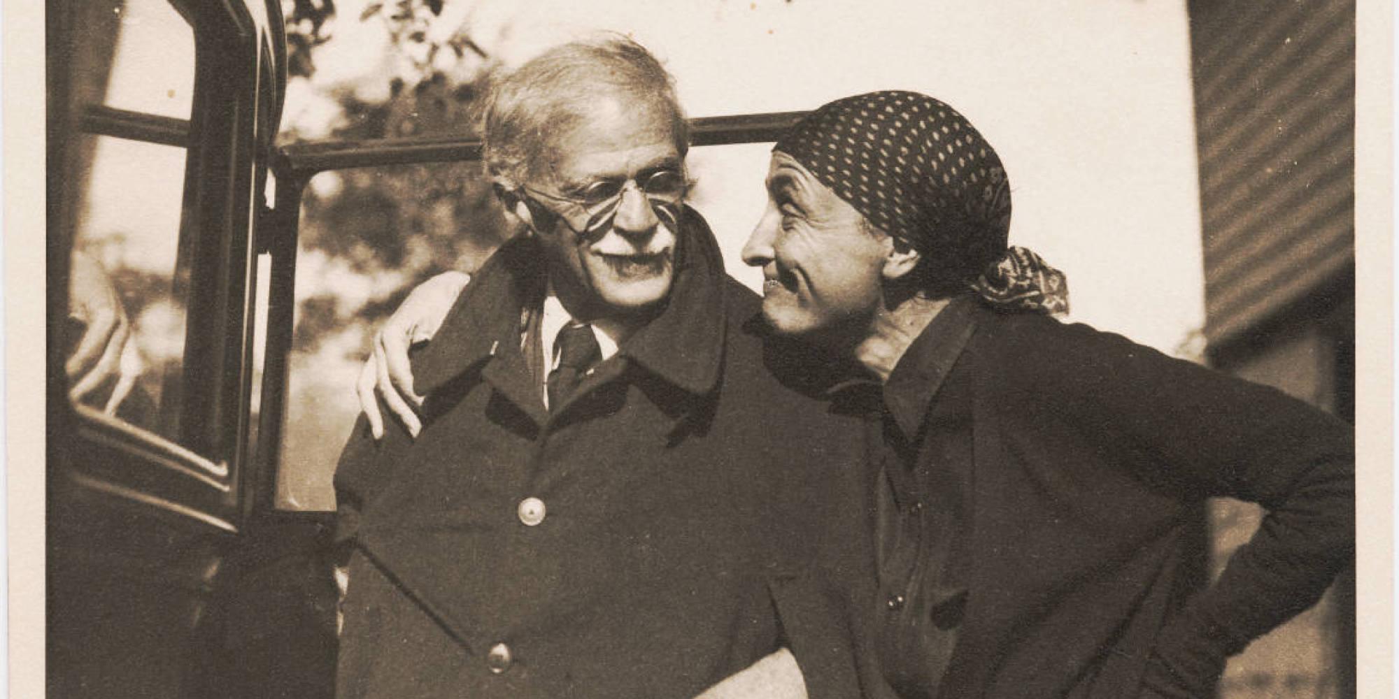 Alfred Stieglitz and Georgia O'Keefe