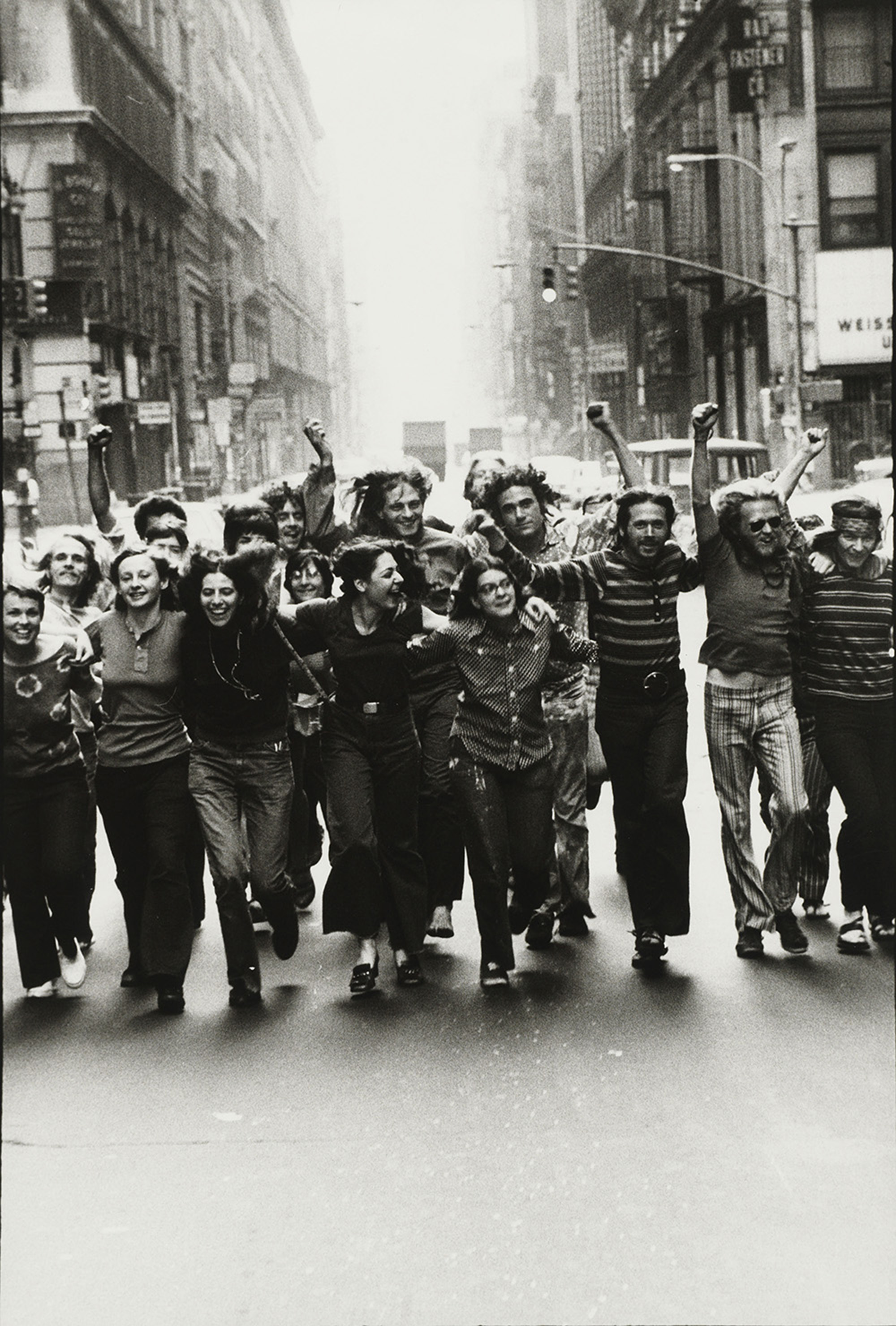Gay Liberation Front Poster Image, 1969, gelatin silver print, purchased on The Charina Endowment Fund, The Morgan Library & Museum, 2013.108:1.76. © Peter Hujar Archive, LLC, courtesy Pace/MacGill Gallery, New York and Fraenkel Gallery, San Francisco.