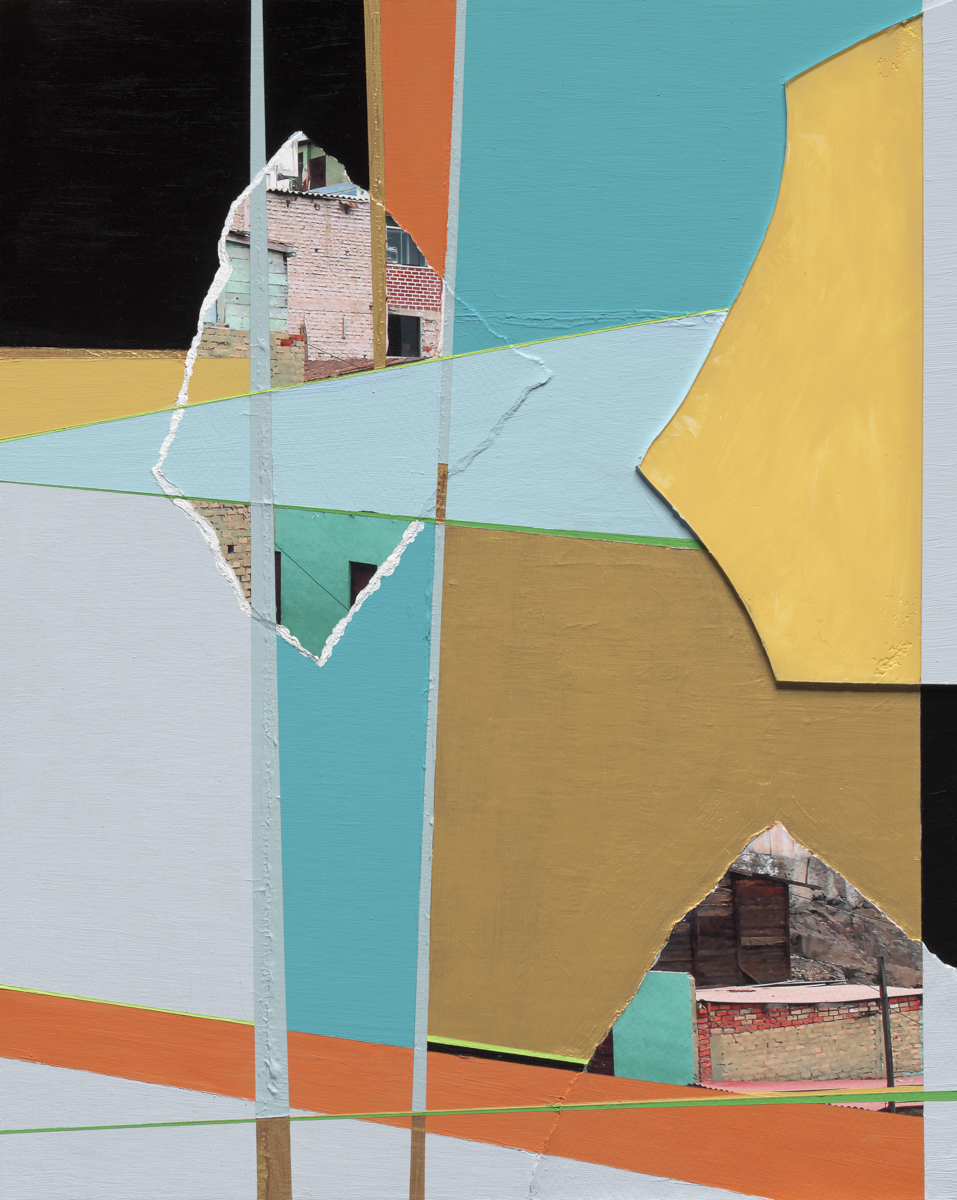 Beth Davila Waldman_Intersections No. 4, 2017, Plexiglas, Archival Pigment, Rag Paper, Acrylic & Spray Paint on Wood Panel, 20 x 16.JPG