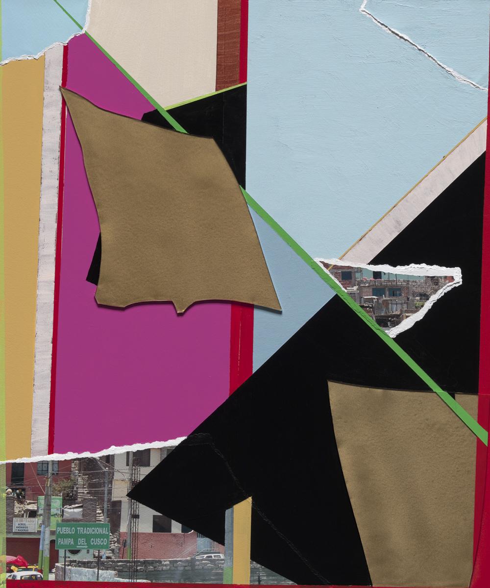 Beth Davila Waldman_Intersections No. 9, 2017, Plexiglas, Archival Pigment, Rag Paper & Acrylic & Spray Paint on Wood Panel, 24 x 18.JPG