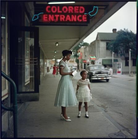Department Store, Mobile, Alabama, 1956  Images Courtesy of Jack Shaiman Gallery