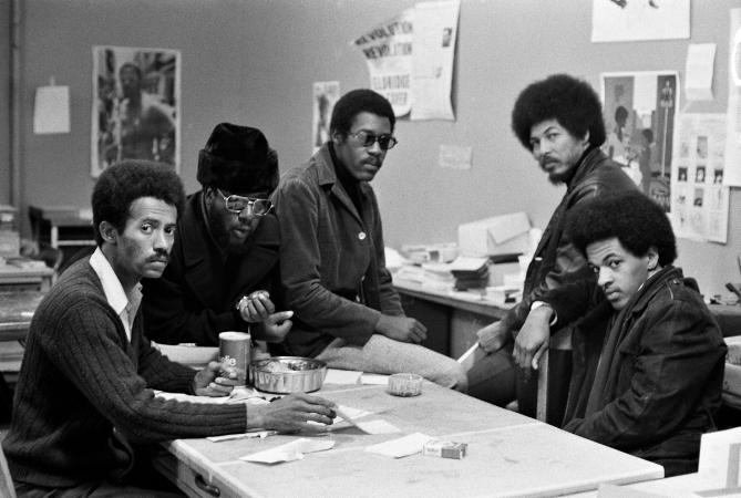 Black Panther Headquarters, San Francisco, California, 1970  Images Courtesy of Jack Shaiman Gallery'