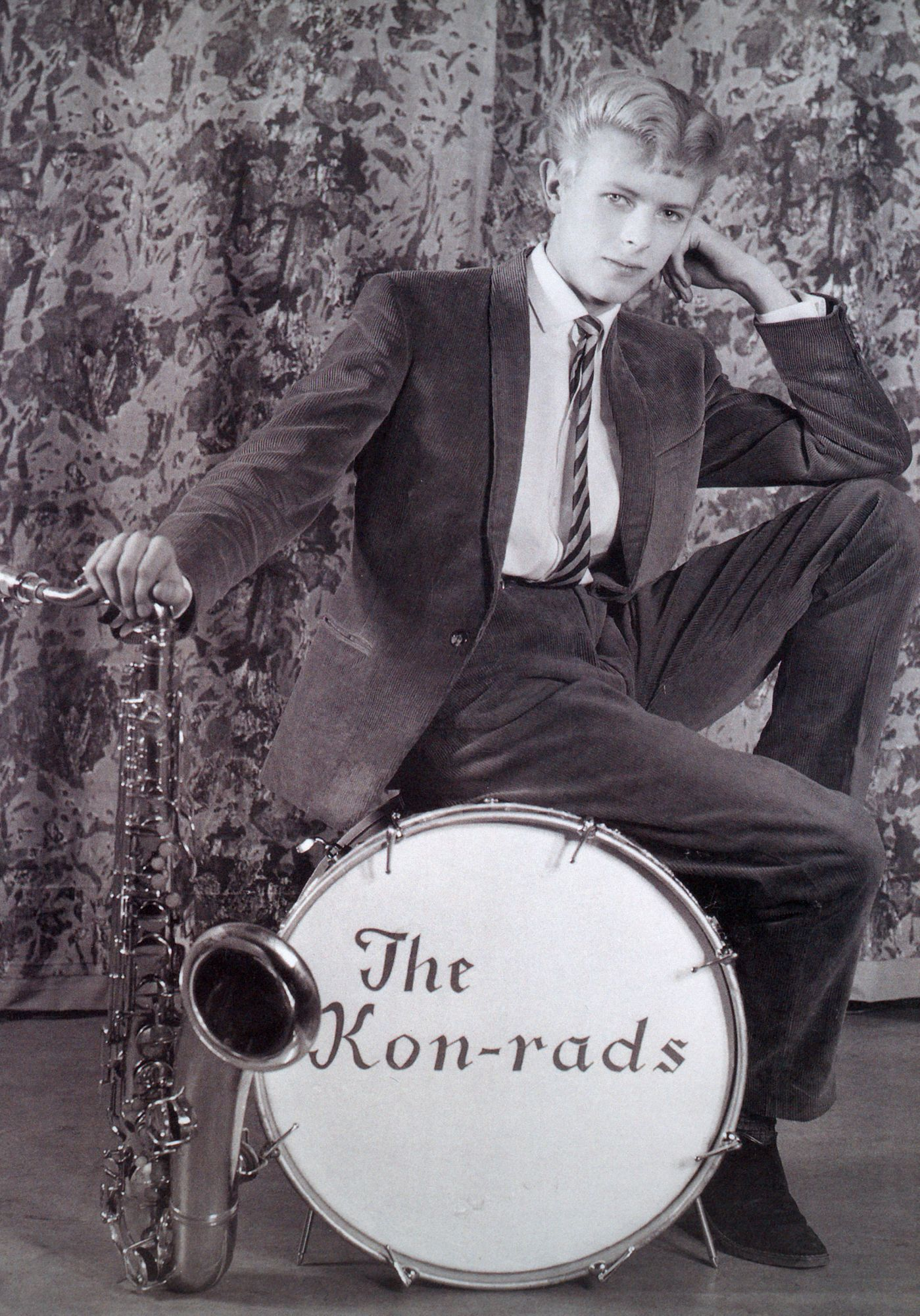 Publicity photograph for The Kon-rads, 1963,Courtesy of The David Bowie Archive © Victoria and Albert Museum