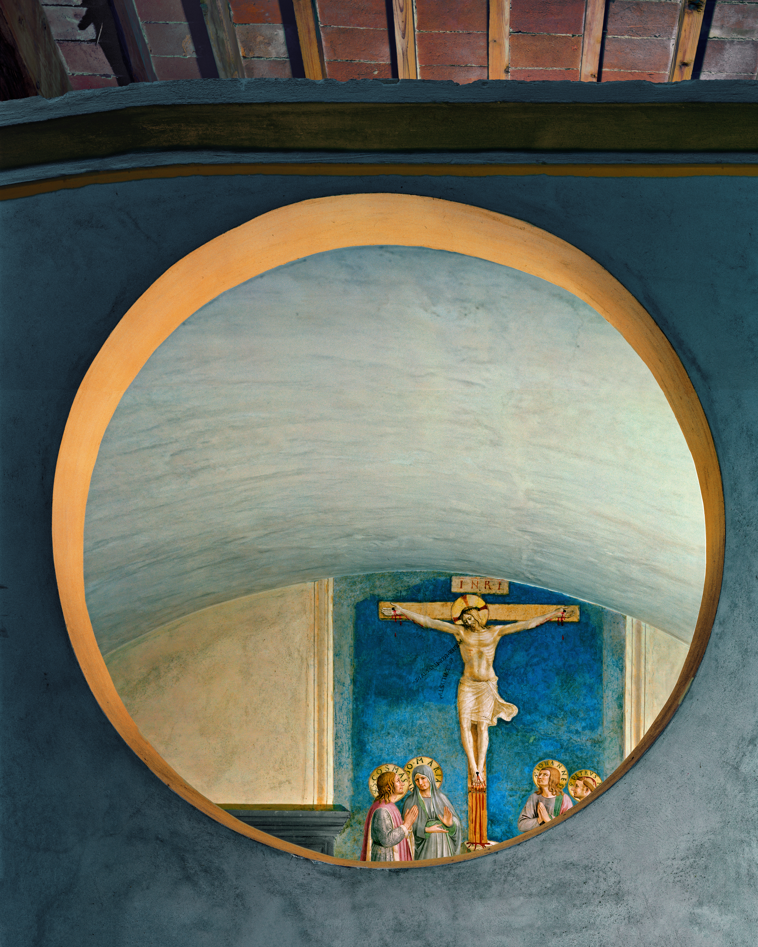 Crucifixion with the Virgin and Saints by Fra Angelico #1, San Marco Convent, Florence, Italy, 2010 © Robert Polidori, Courtesy of Paul Kasmin Gallery