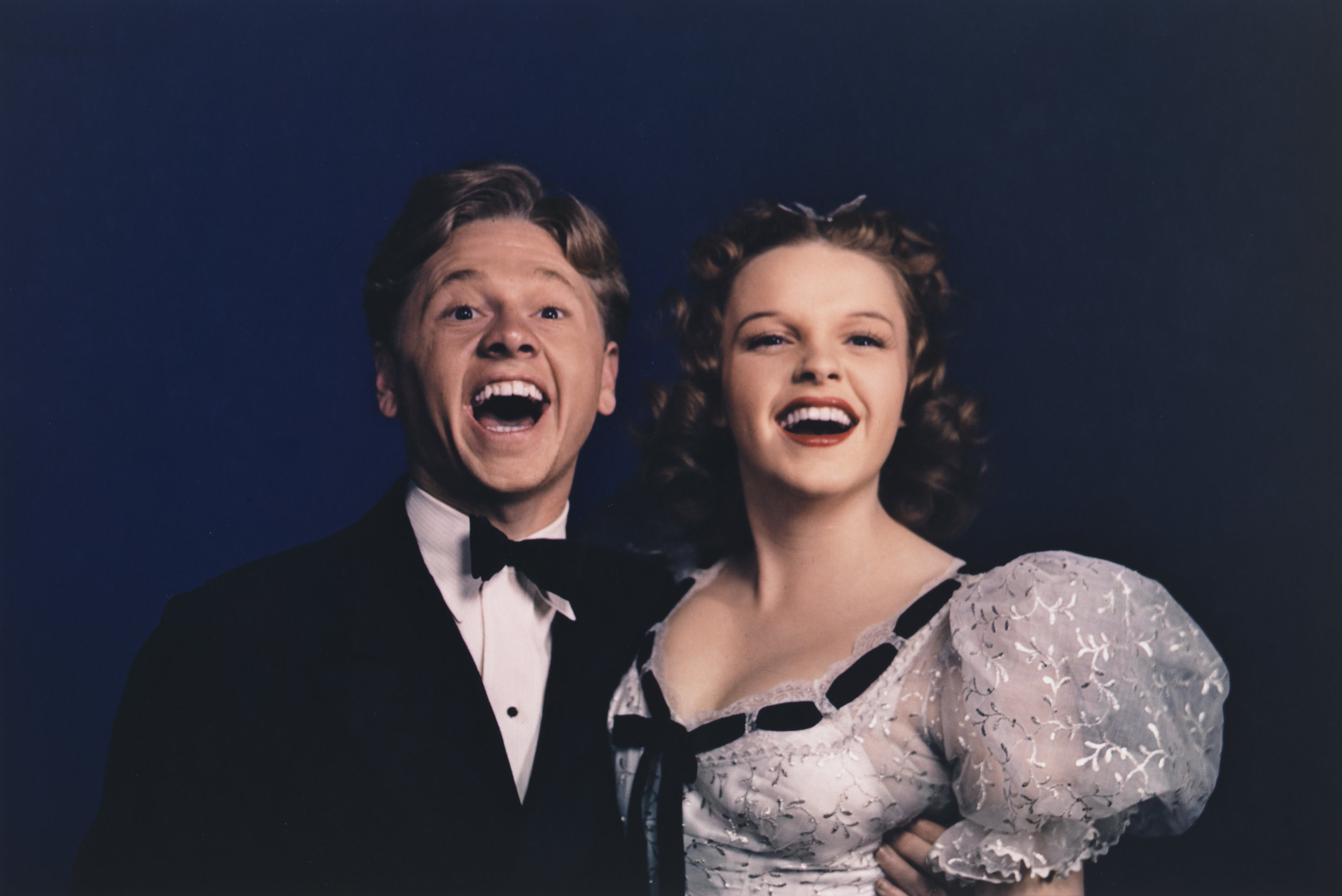Harold Edgerton (1903-1990),  Mickey Rooney and Judy Garland at MGM Studios , 1940. Edition 16/22. Chromogenic print: sheet, 15 7/8 × 19 13/16 in. (40.3 × 50.3 cm); image 12 1/4 × 18 1/4 in. (31.1 × 46.4 cm). Whitney Museum of American Art, New York; gift of The Harold and Esther Edgerton Family Foundation 96.117.58. © 2010 MIT. Courtesy of MIT Museum