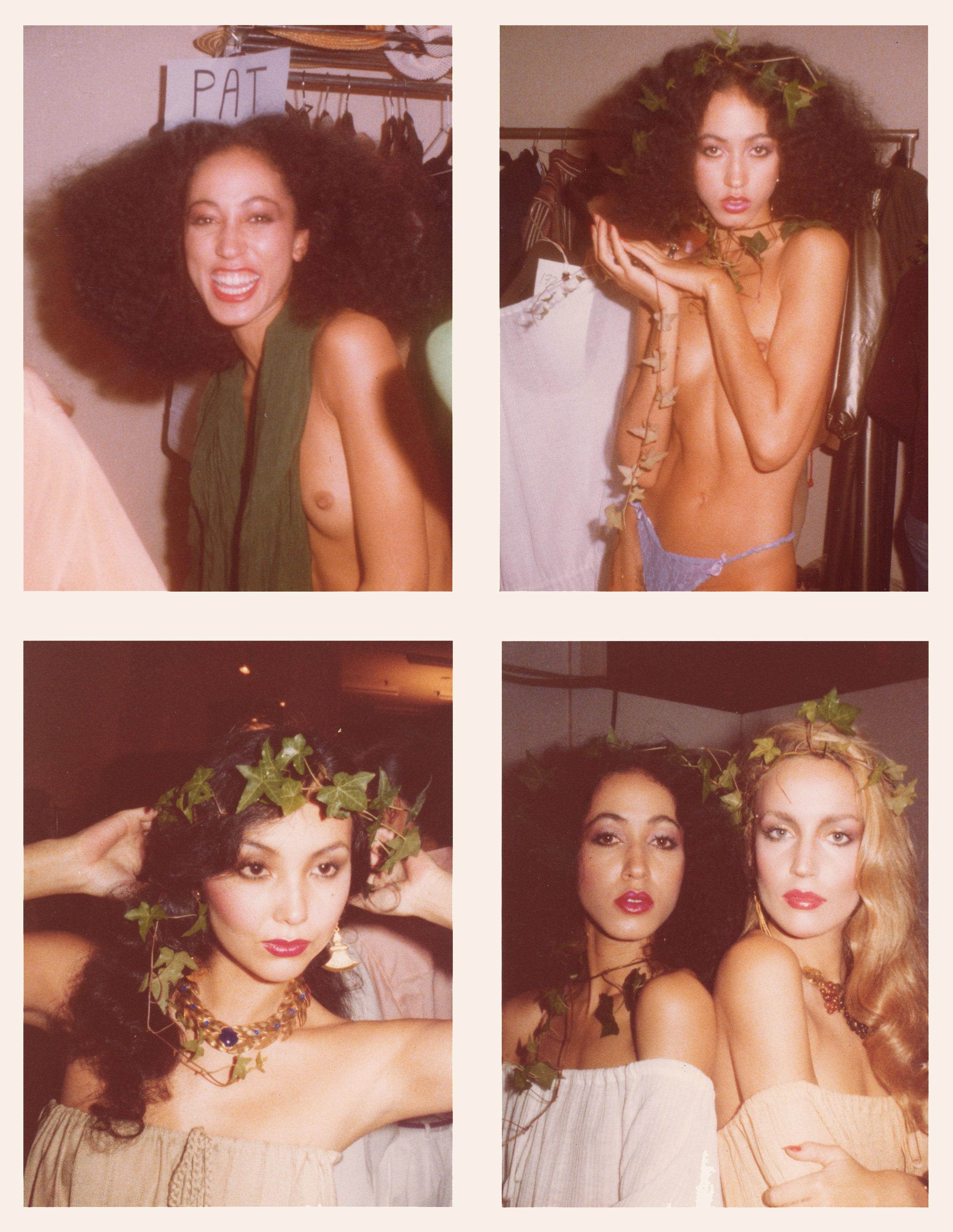 ©Antonio Lopez:Cleveland, Hall, and Helvin, November 1977