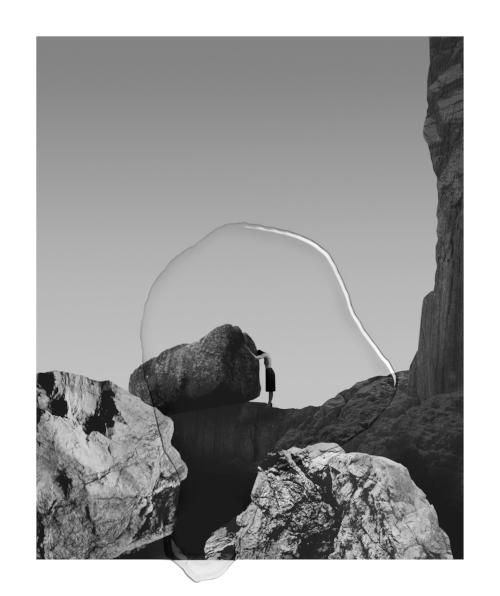 Splash,2015.Archival pigment print on Hahnemühle Photo Rag US 305gr Paper, Epoxy Framed.43.5 x 50.5 cm