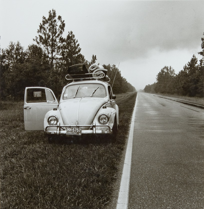 ©Raymond Smith (American, born 1942),  Rural Highway, Southern Georgia, after Rainstorm,1974, gelatin silver print, Lent by the artist