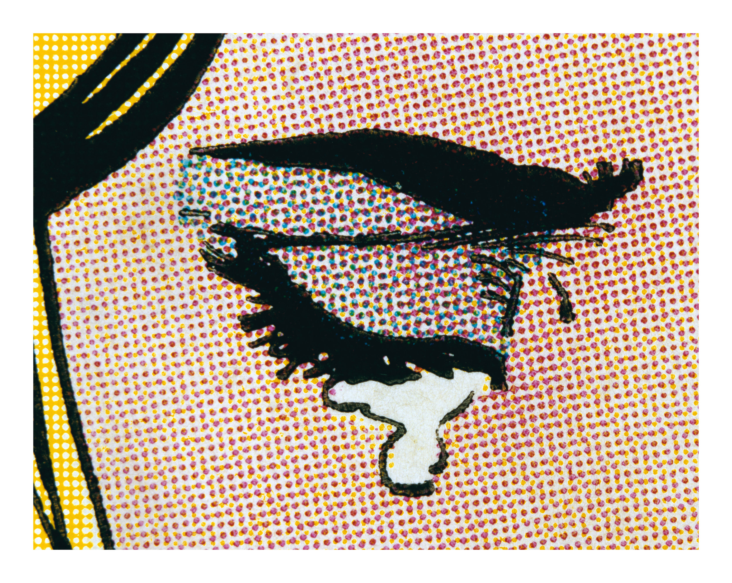 Anne Collier,  Woman Crying (Comic) #4 , 2018. Images courtesy the artist and Anton Kern Gallery, New York / © Anne Collier