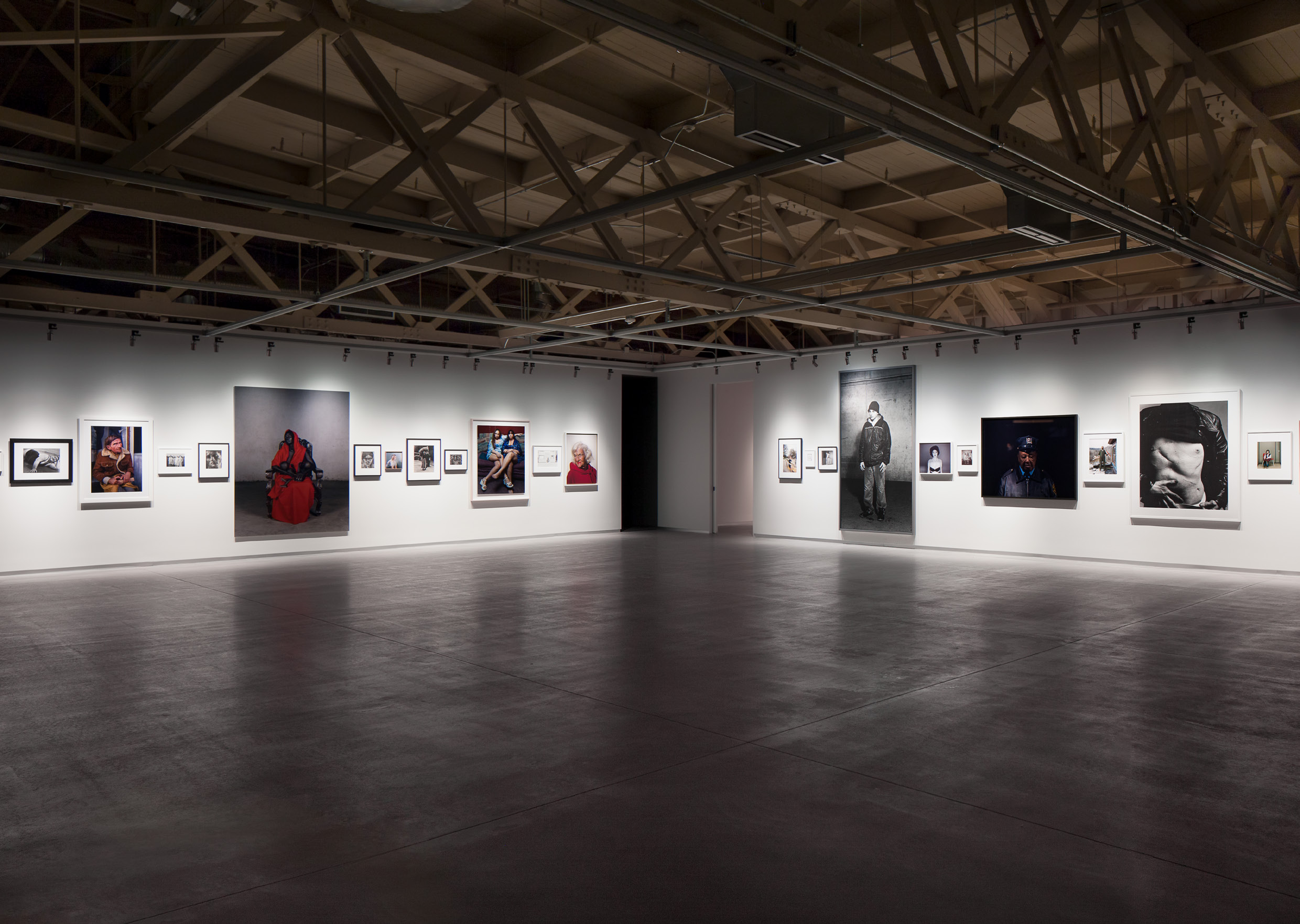 Selected Portraits from the Pilara Foundation Collection, 1898–2011; Installation view, About Face, Pier 24 Photography, San Francisco