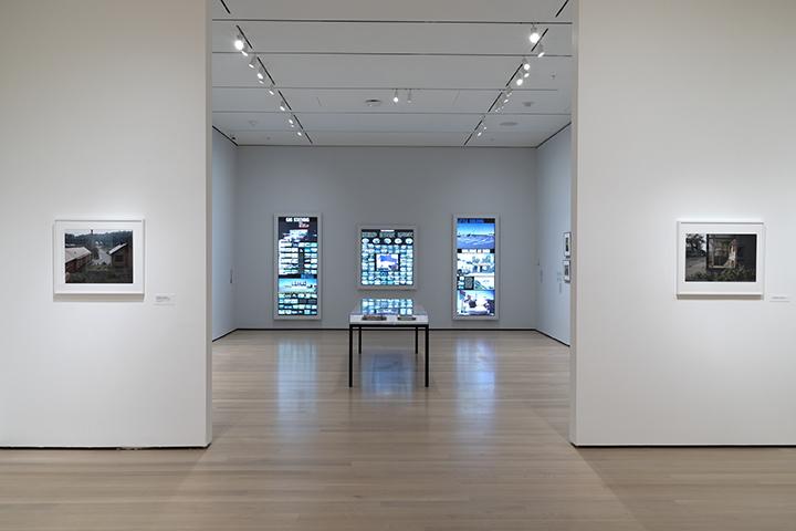 Installation view of  Stephen Shore. The Museum of Modern Art, New York, November 19, 2017–May 28, 2018. © 2017 The Museum of Modern Art. Photo: Robert Gerhardt