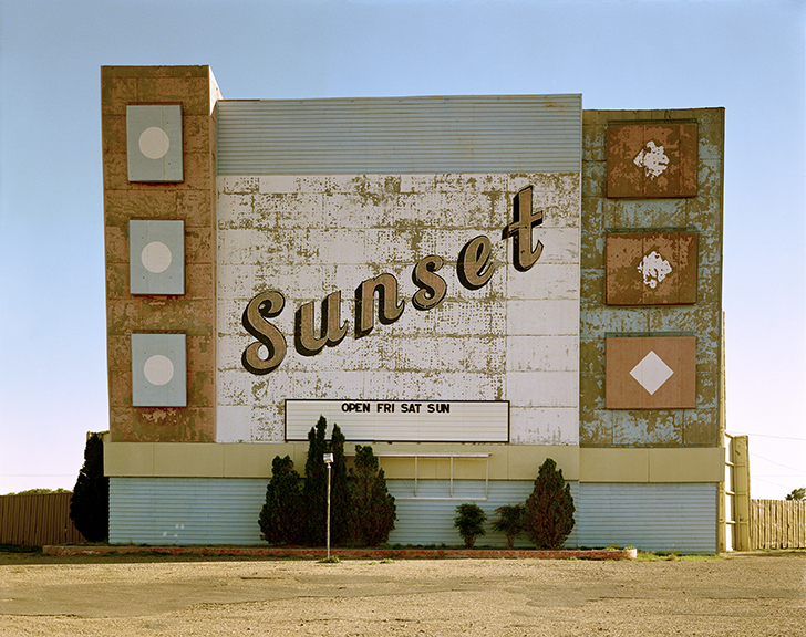 Stephen Shore. West 9th Avenue, Amarillo, Texas, October 2, 1974 . 1974. Chromogenic color print, printed 2013, 17 × 21 3/4″ (43.2 × 55.2 cm). The Museum of Modern Art, New York. Acquired through the generosity of an anonymous donor. © 2017 Stephen Shore