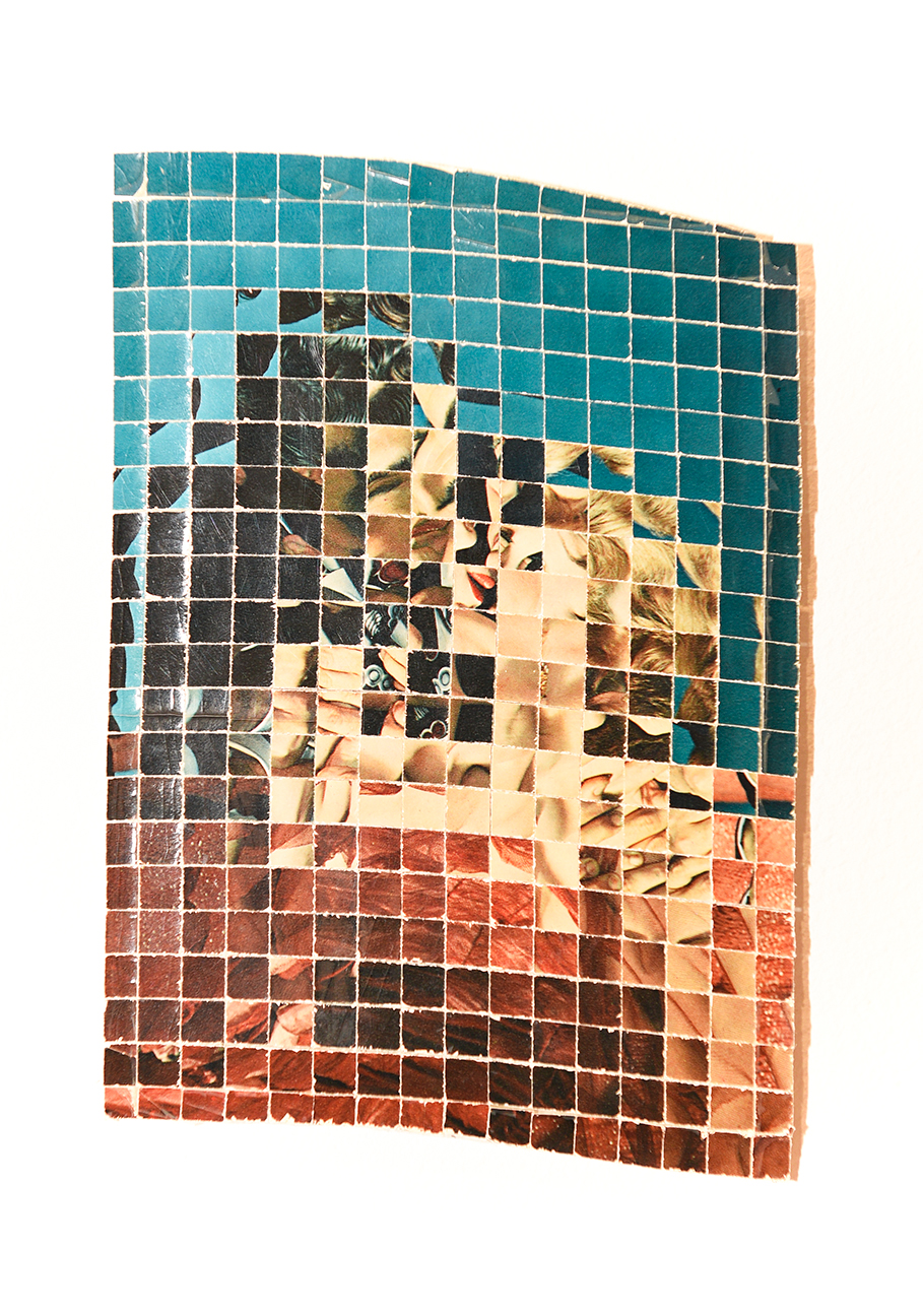 ©Kensuke Koike / Postmasters gallery, R-Rated 2018 altered postcard 15.3 x 10.3 cm / 6 x 4 in