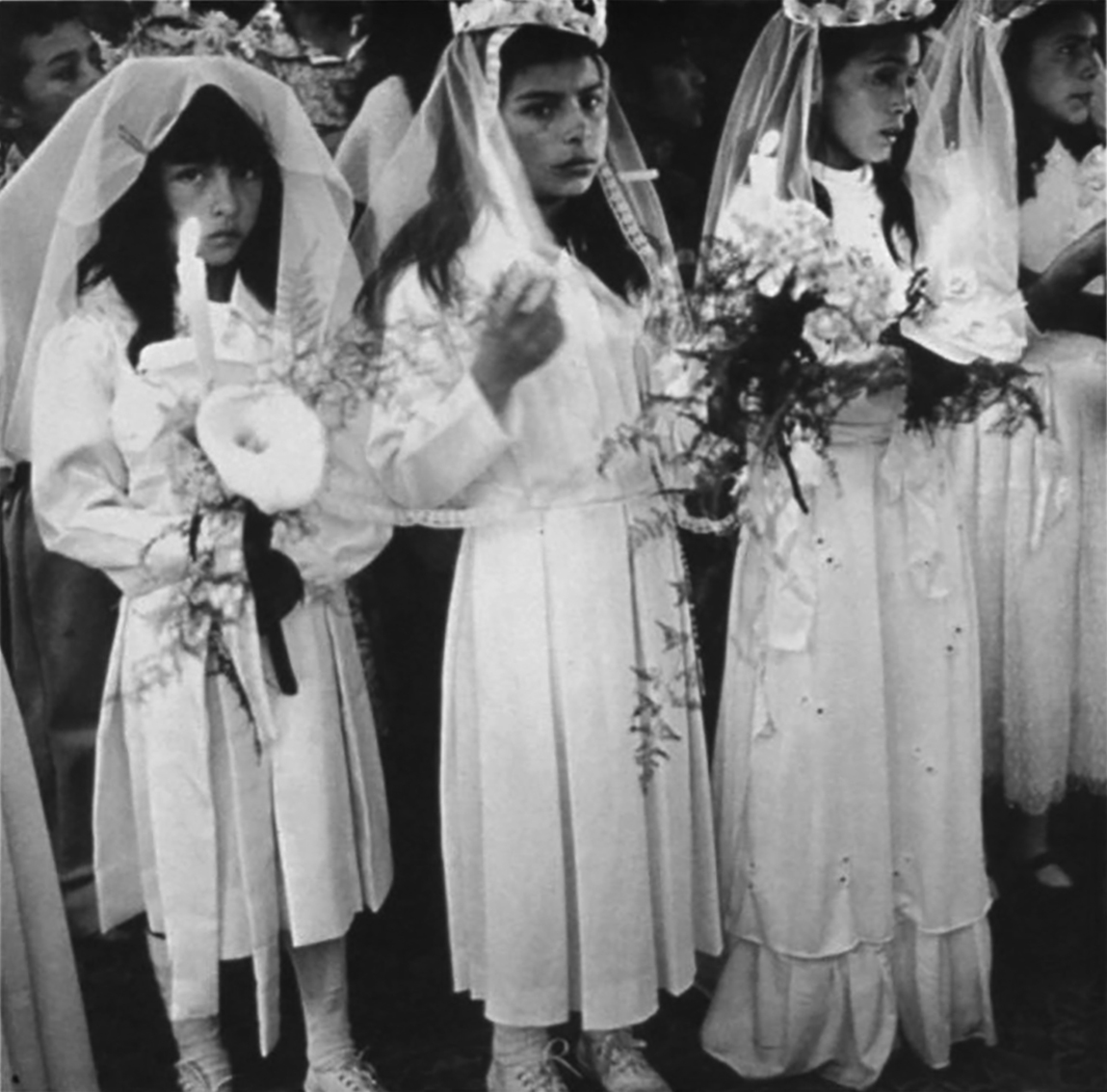 ©Wendy Ewald Courtesy Steven Kasher Gallery, New York,First Communion, Colombia, 1982-1985