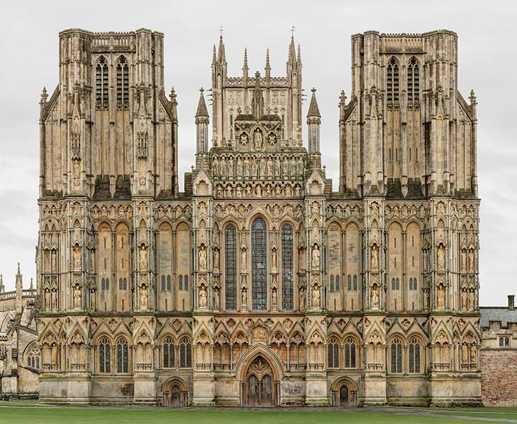 Wells Cathedral Church of St. Andrews, 2015.