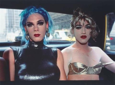 Nan Goldin,  Misty & Jimmy Paulette in a Taxi, NYC , 1991