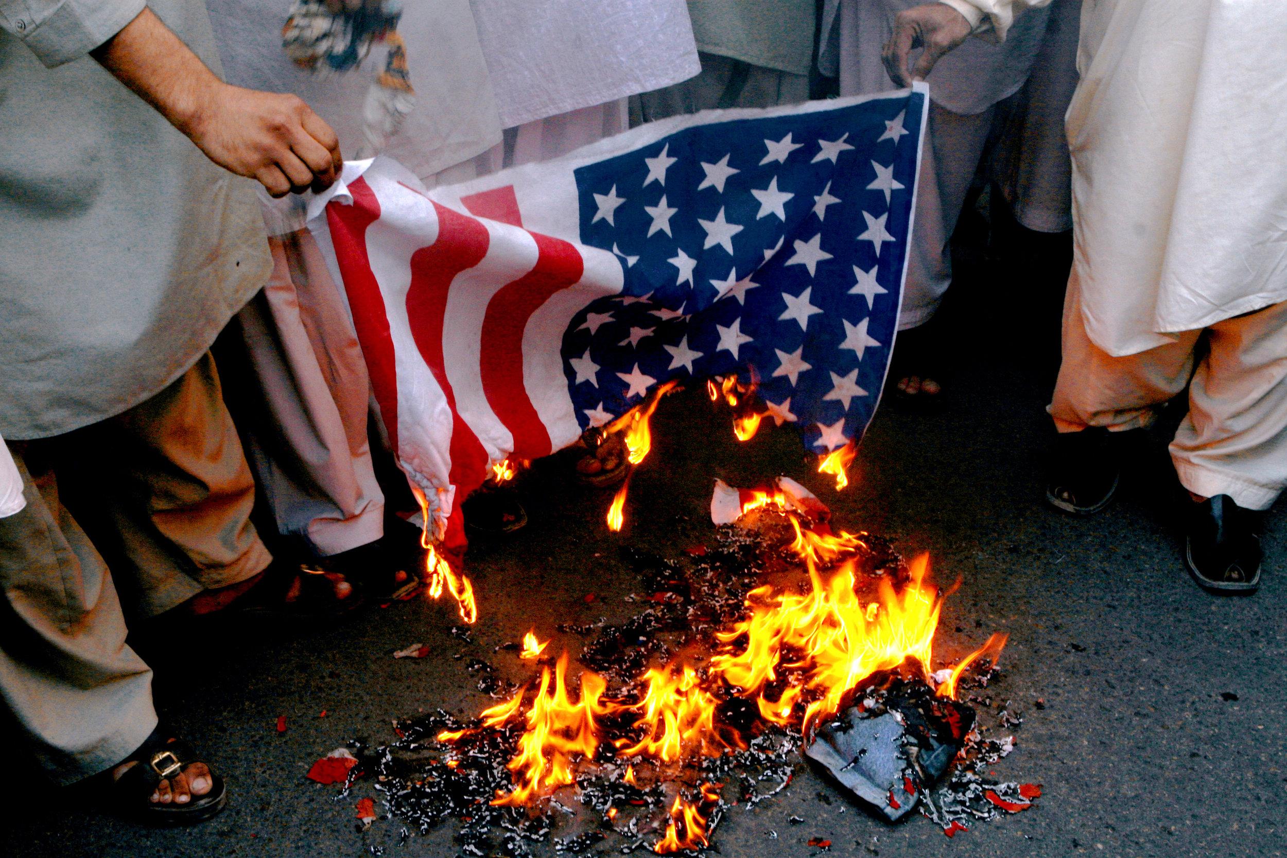 Image © Demonstrations in Karachi , Pakistan, 2008,Egill Bjarnason