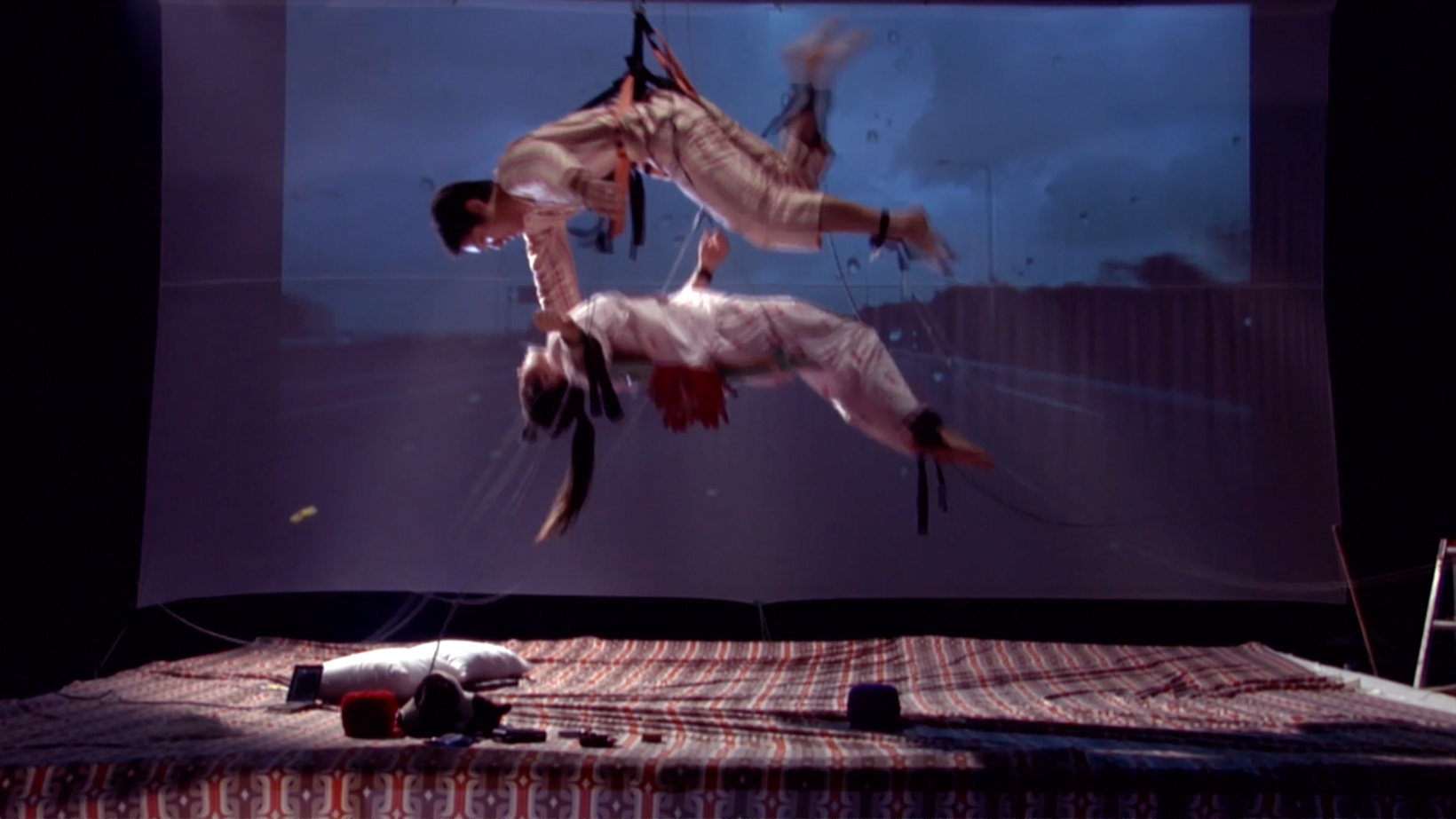 Koo Donghee, Still from Static Electricity of Cat's Cradle, 2007, video. Courtesy of the artist and Jane Lombard Gallery.