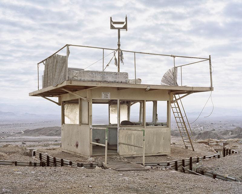 Roei Greenberg,  Alone, Watch Tower, Pharan, the Arava  , 2016 ©Roei Greenberg