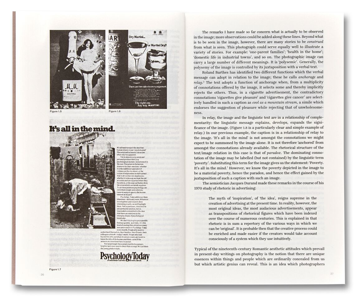 Fig. 1.5, 1.6, 1.7, pp. 26-27 Victor Burgin, The Camera: Essence and Apparatus  (2018), courtesy of MACK.