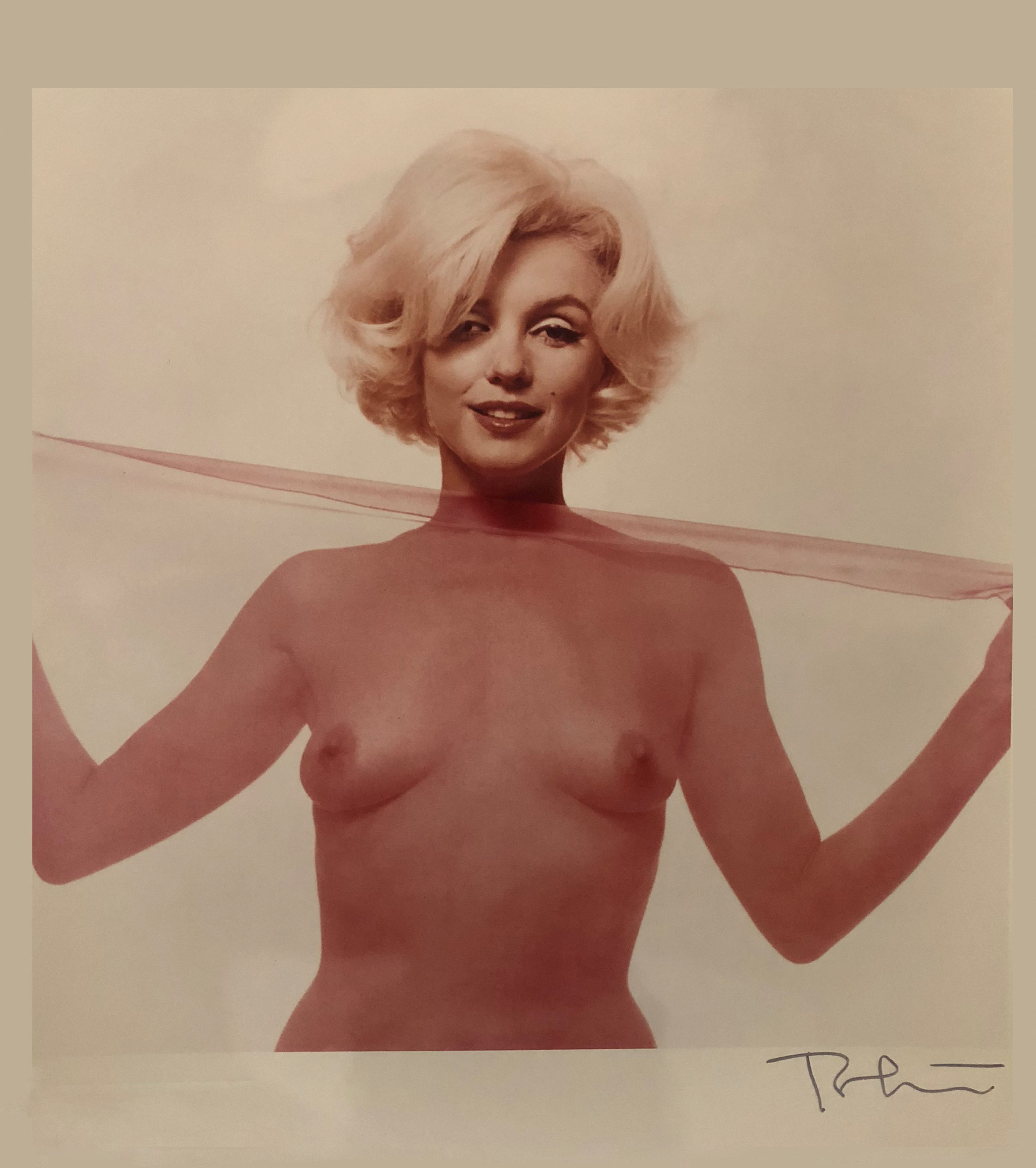 """© Bert Stern """" Not Bad For 36""""  1962 Color Photograph Made From Original Transparencies  Hand Signed And Numbered"""