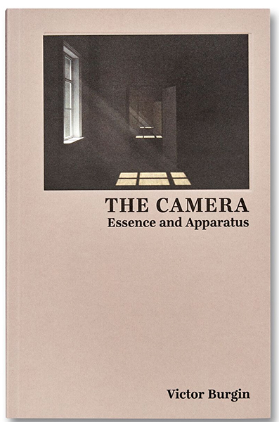 Front Cover: CGI frame from  Afterlife , Victor Burgin, The Camera: Essence and Apparatus  (2018), courtesy of MACK.