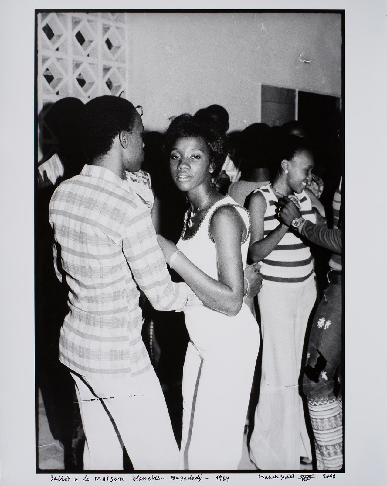 Soirée à la maison blanche. Bagadadji - 1964 . Image courtesy Jack Shainman Gallery.