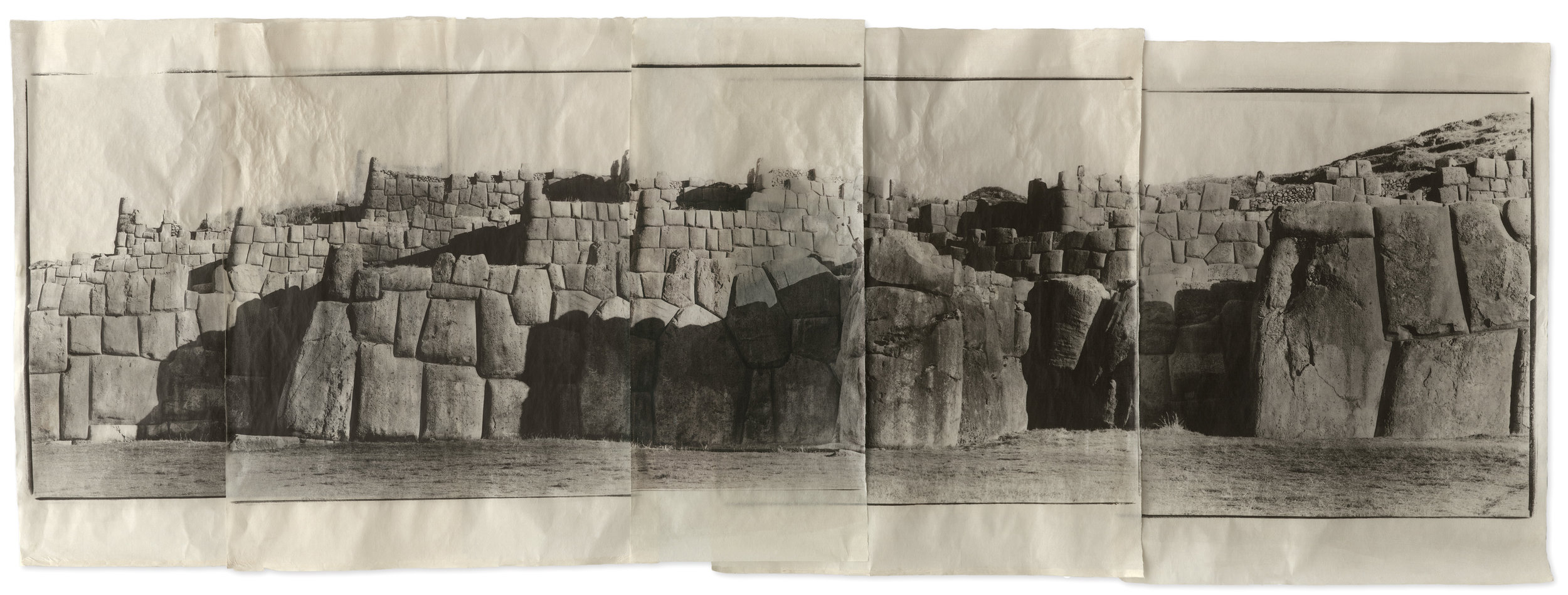 Sacsayhuaman, Cusco, Peru, 2003.© Jean Pagliuso; Courtesy of the artist and Mary Ryan Gallery, New York