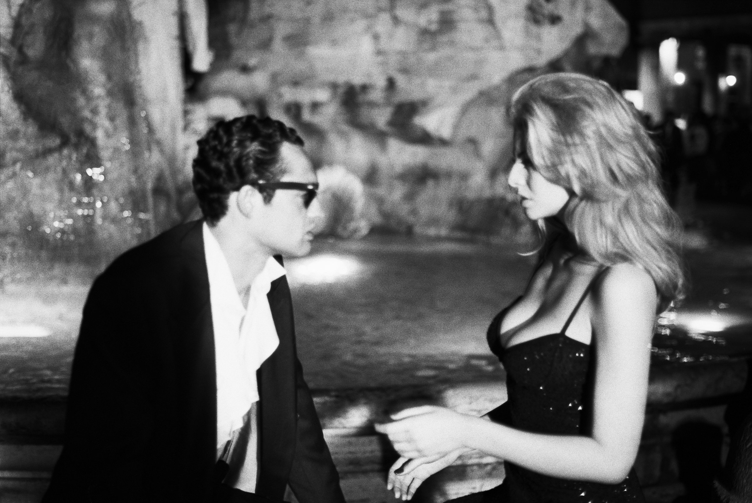 Roumina and Luca Vellani for  British GQ , Rome, 1993 © Stephanie Pfriender Stylander