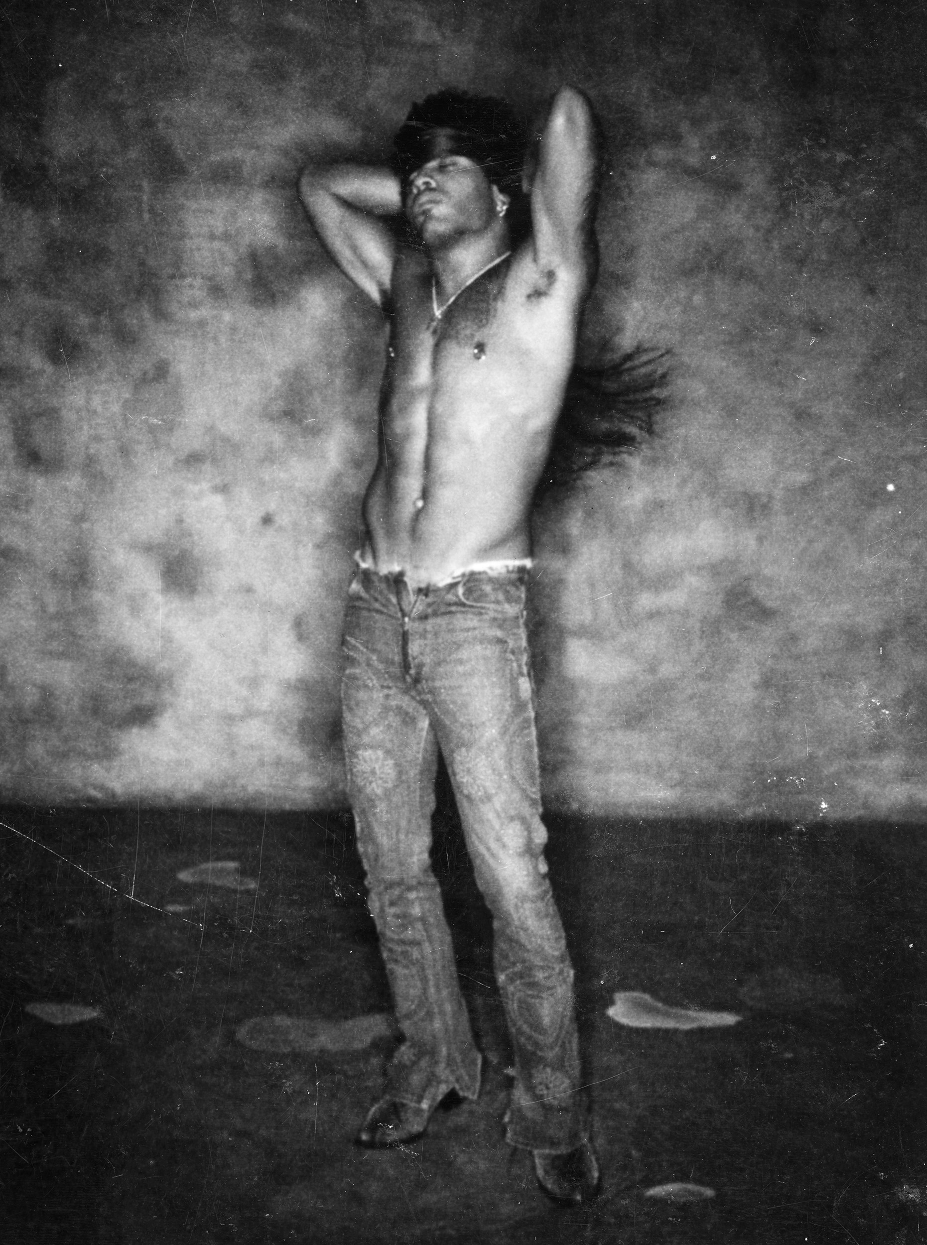 Lenny Kravitz for  Code,  New York, 2001 © Stephanie Pfriender Stylander