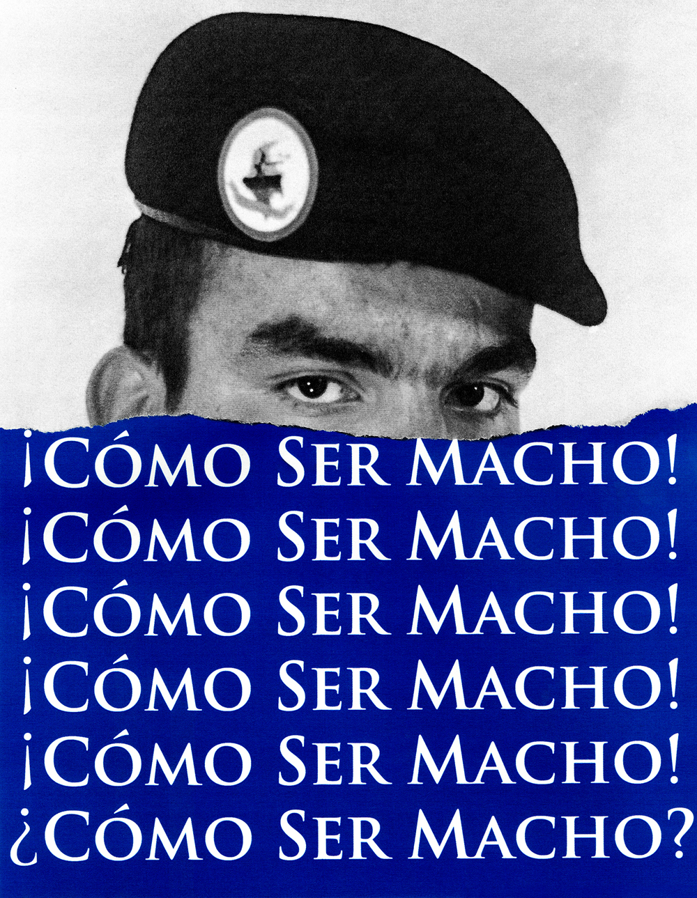 Como Ser Macho (Blue), Fragments of the Masculine © Antonio Pulgarin