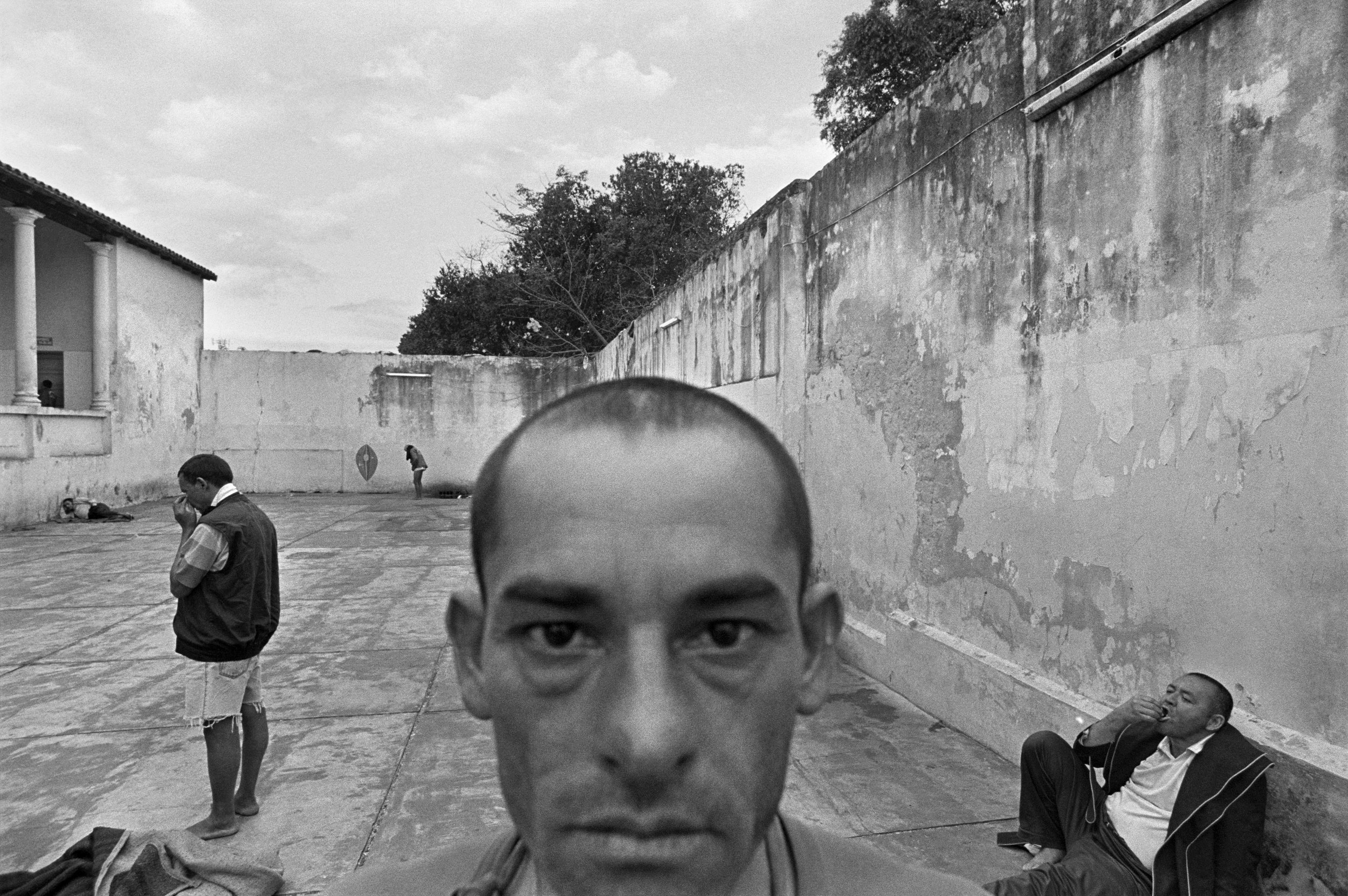The old ward, Psychiatric Hospital, Asunción, Paraguay  , 2005. Gelatin silver print.  Collection of Eugene Richards. © Eugene Richards