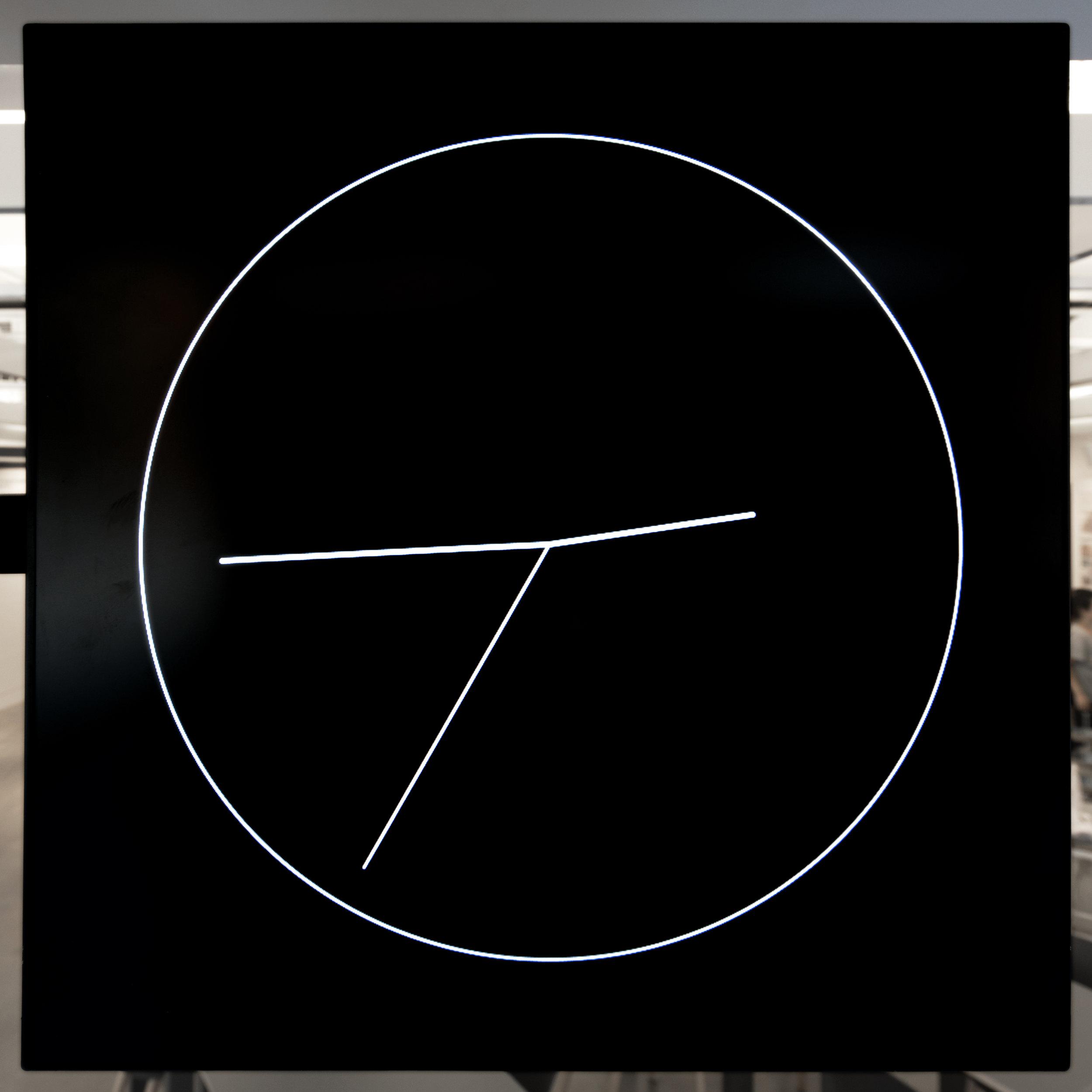 David Reinfurt, O-R-G,Clock, 2016(detail). © David Reinfurt