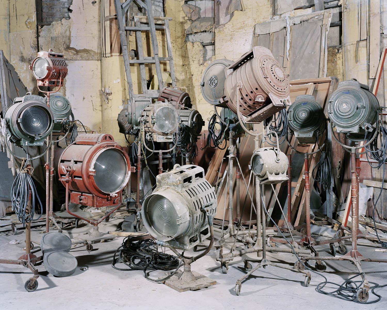 """Technician's Studio - 3""   From ""Film Studio Series"",     2013-2014. 28 x 36 inch Archival Pigment Print. Courtesy of Nandita Raman © sepiaEYE"