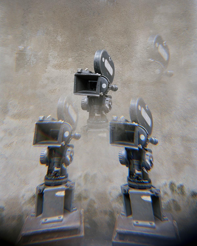 """Manik da's Camera (Image India) -1""   From ""Film Studio Series"",     2013-2014. 28 x 36 inch Archival Pigment Print. Courtesy of Nandita Raman © sepiaEYE"