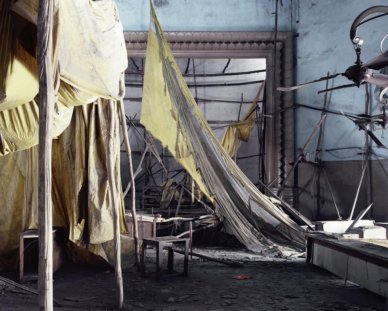 """Chitra""   From ""Film Studio Series"",     2013. 28 x 36 inch Archival Pigment Print. Courtesy of Nandita Raman © sepiaEYE"