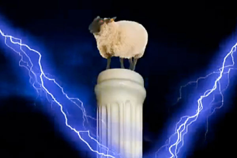 Image from  The Demon Sheep . Created by Carly Fiorina's 2010 campaign for U.S. Senate. Via Youtube.