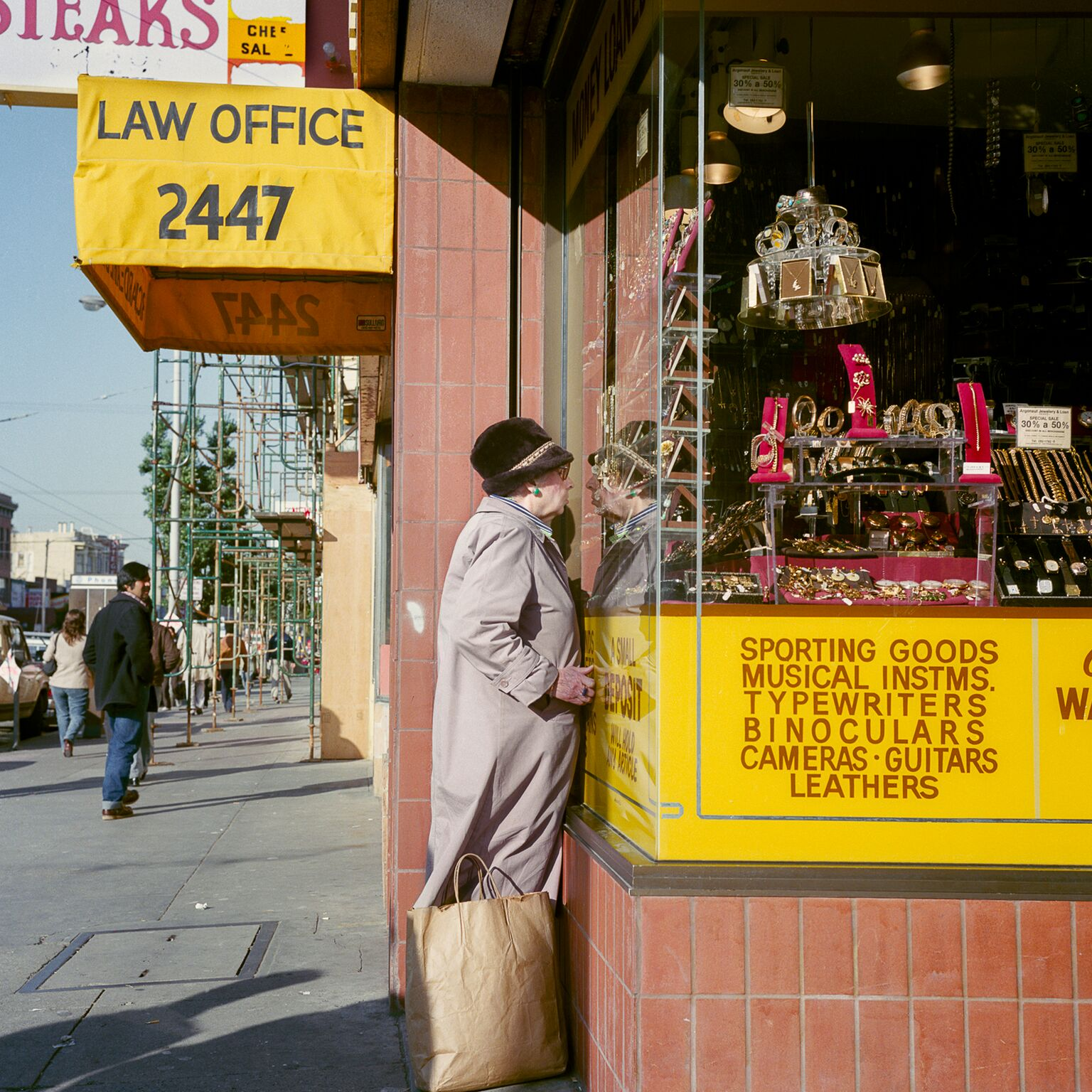 Pawnshop, Mission Street, 1984 -  Courtesy of MACK and Euqinom Gallery