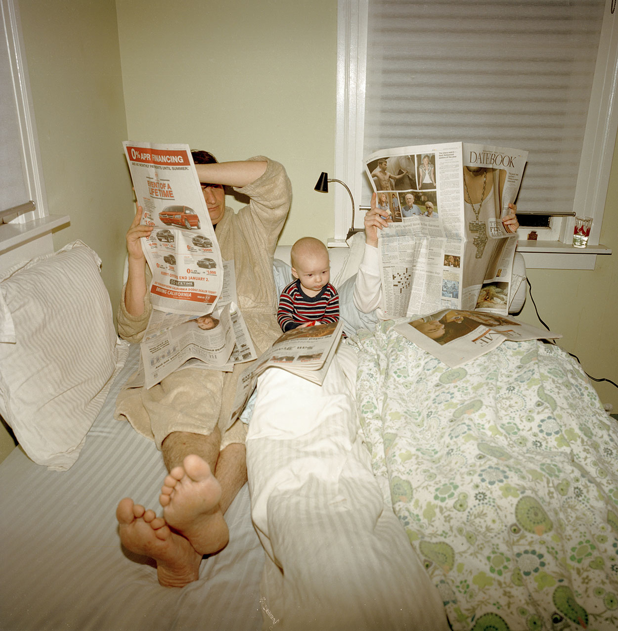 Sunday Morning . © Peggy Nolan. Image courtesy of Daylight Books.