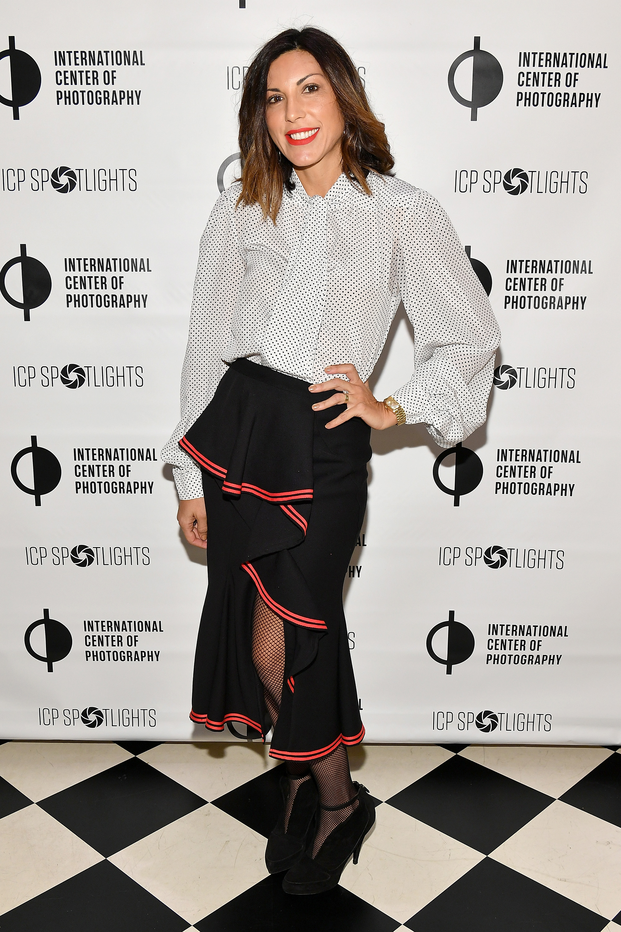 Sheree Hovsepian attends the ICP Spotlights Luncheon Honoring Mickalene Thomas ©Getty Images for ICP