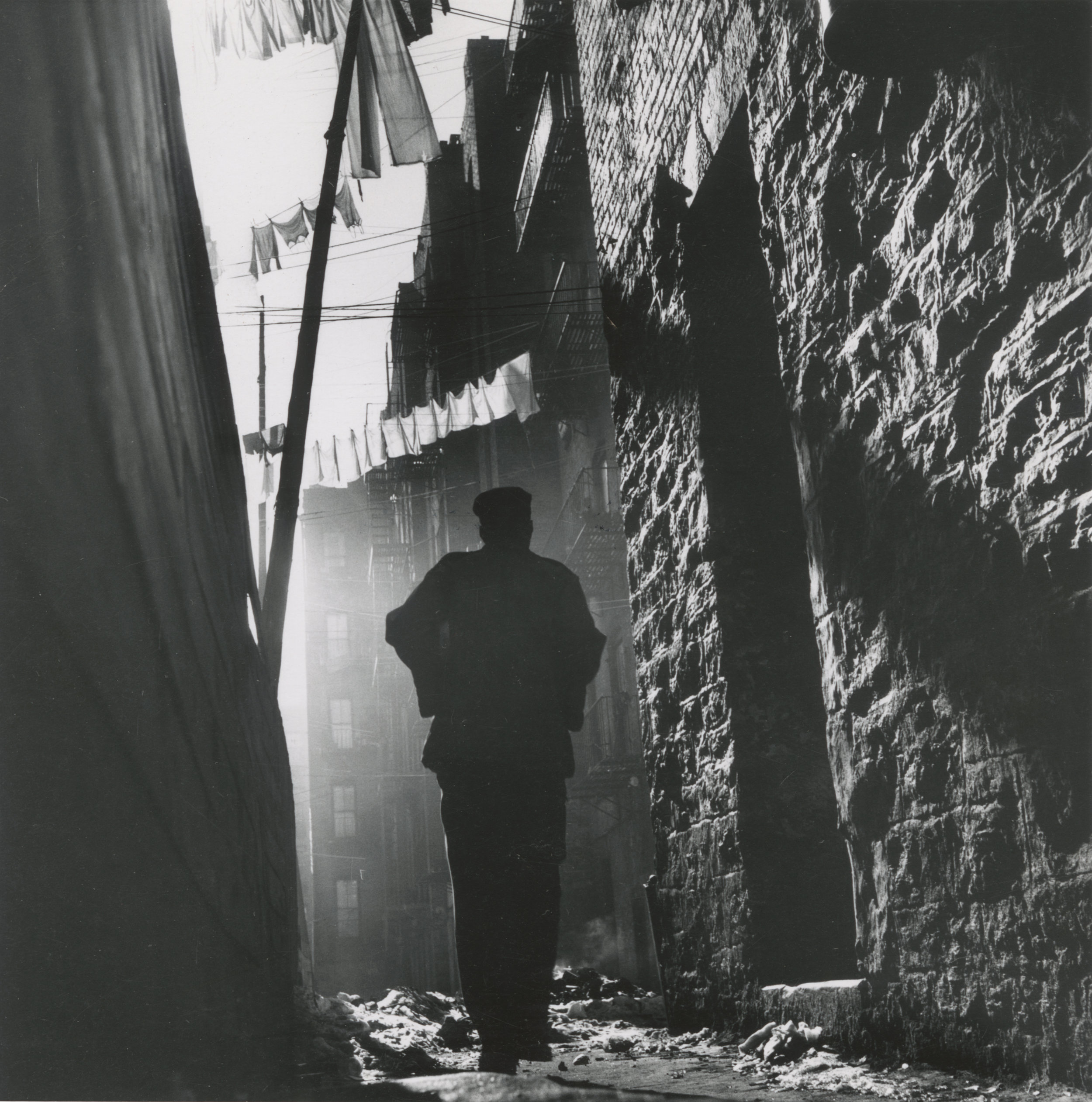 Out On My Own. 1948 © Gordon Parks