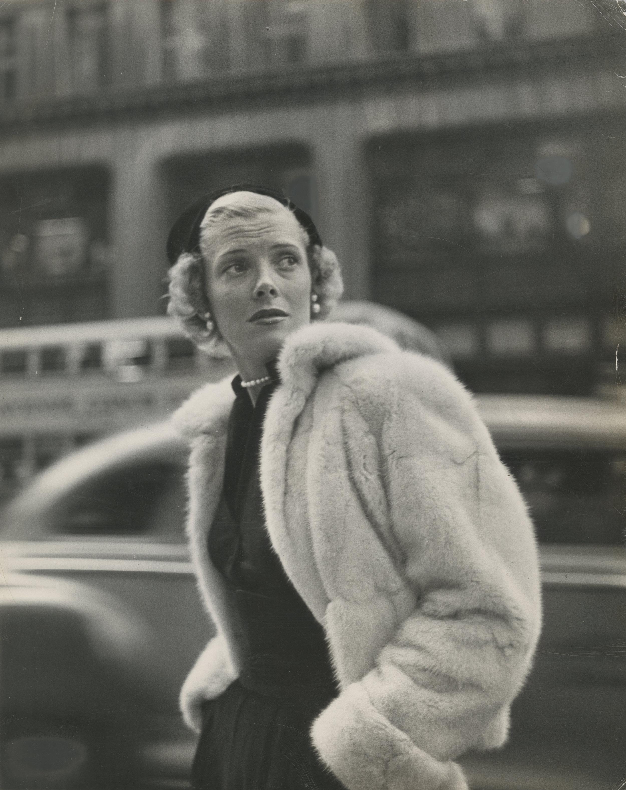 Model Barbara Wood of New York. 1948 © Gordon Parks